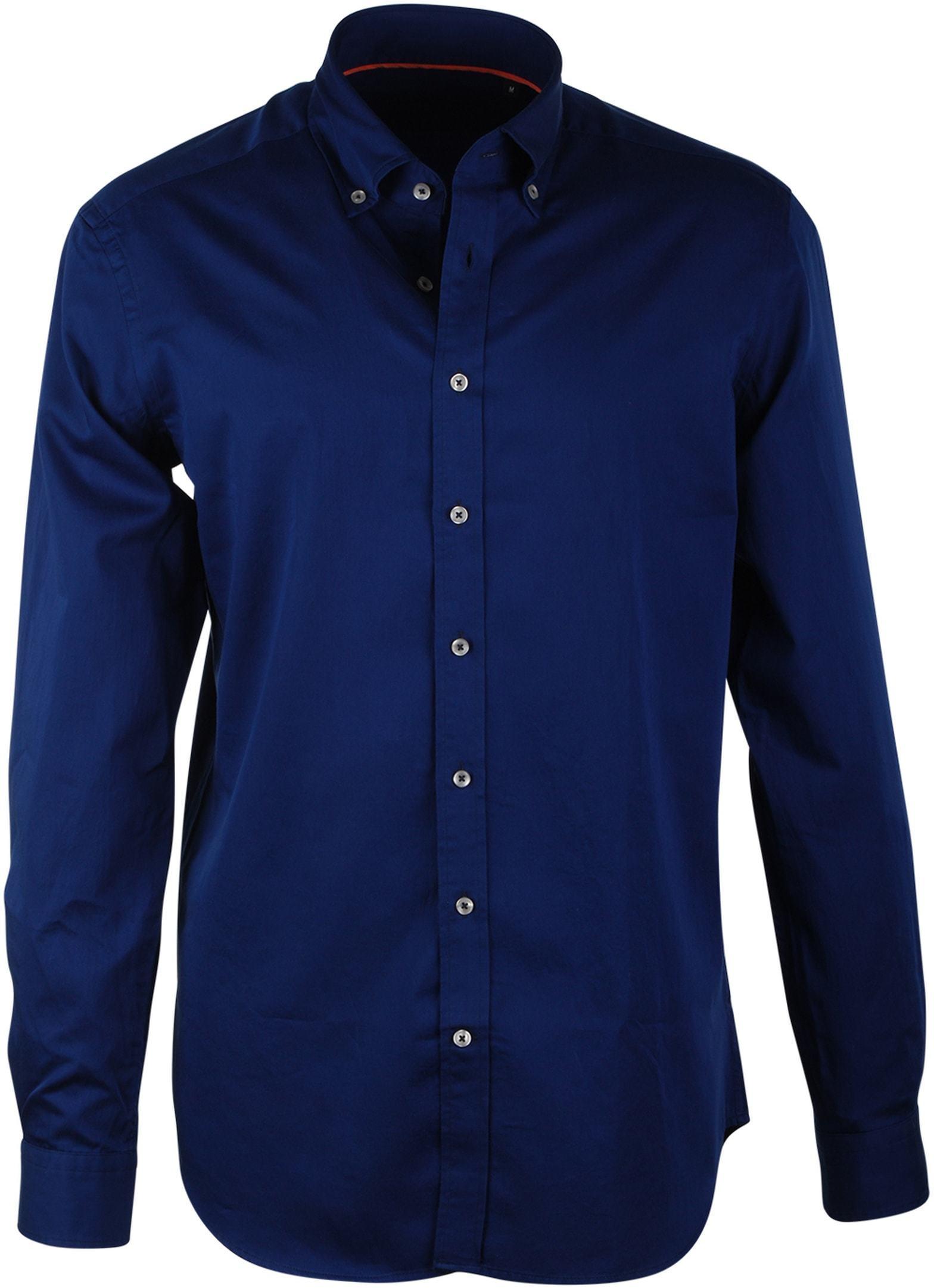Suitable Dark Blue Casual Shirt foto 0