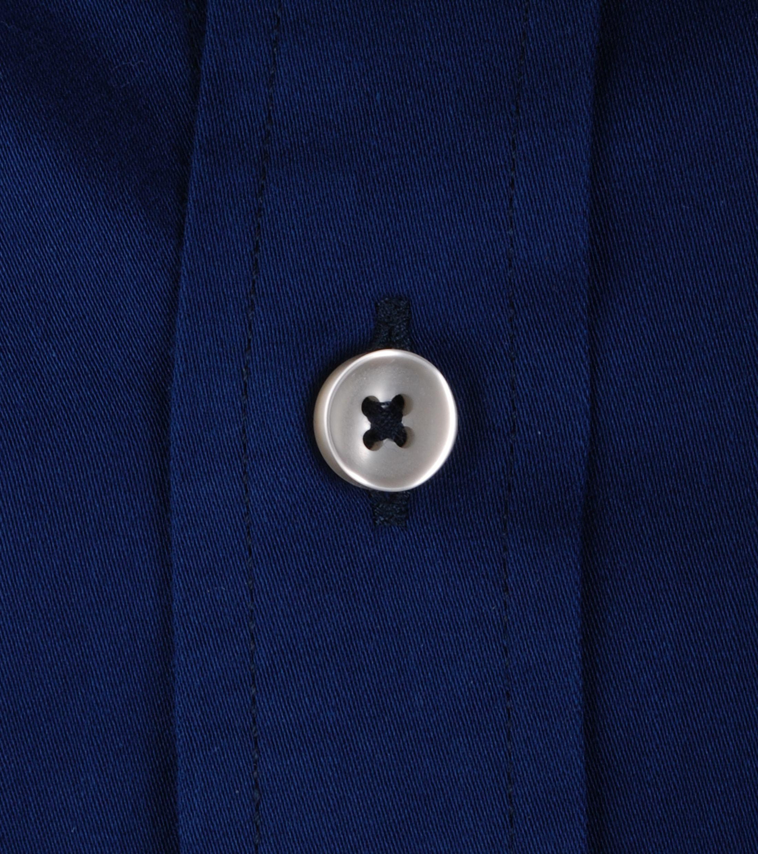 Suitable Dark Blue Casual Shirt foto 2