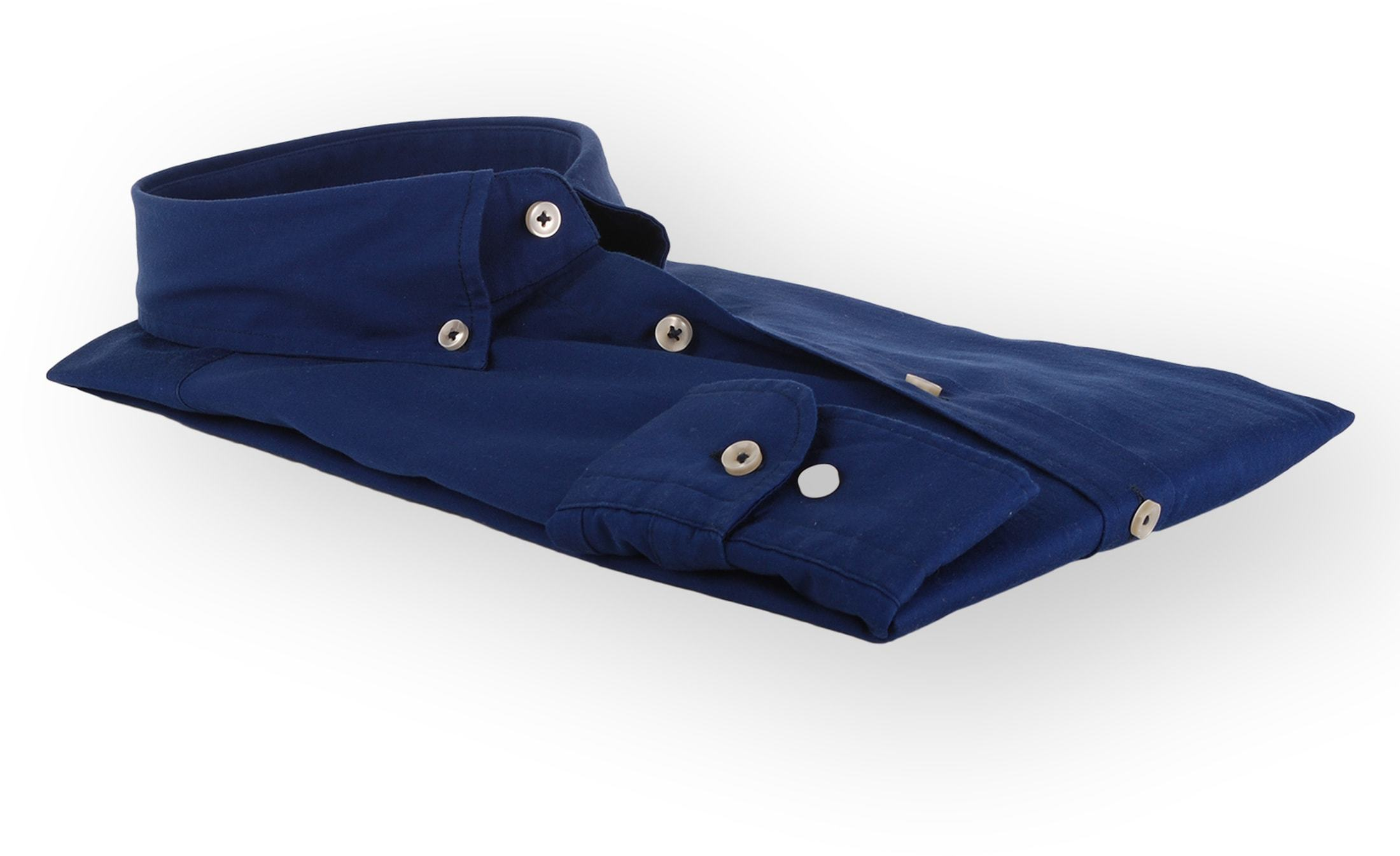 Suitable Dark Blue Casual Shirt foto 4
