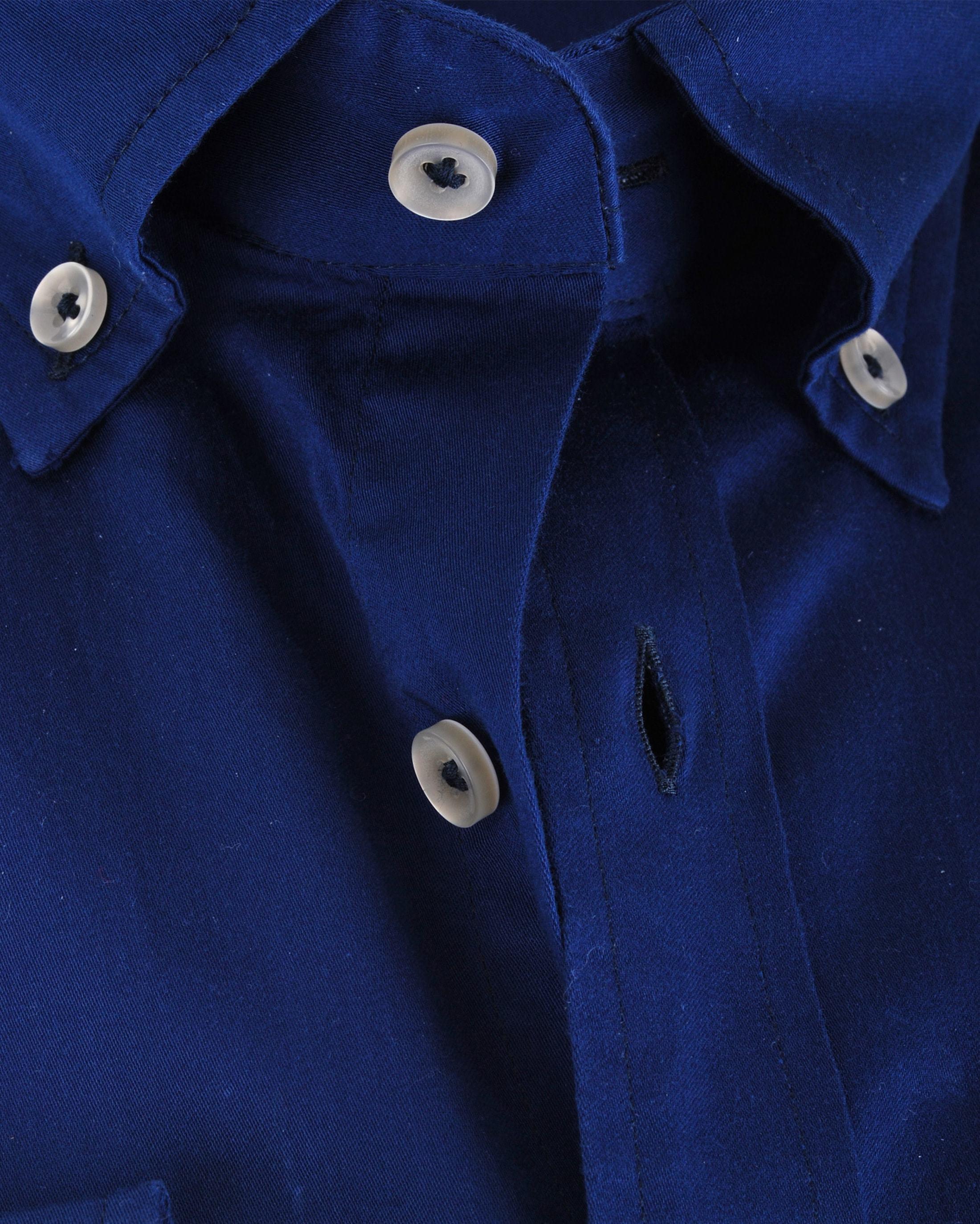 Suitable Dark Blue Casual Shirt foto 5