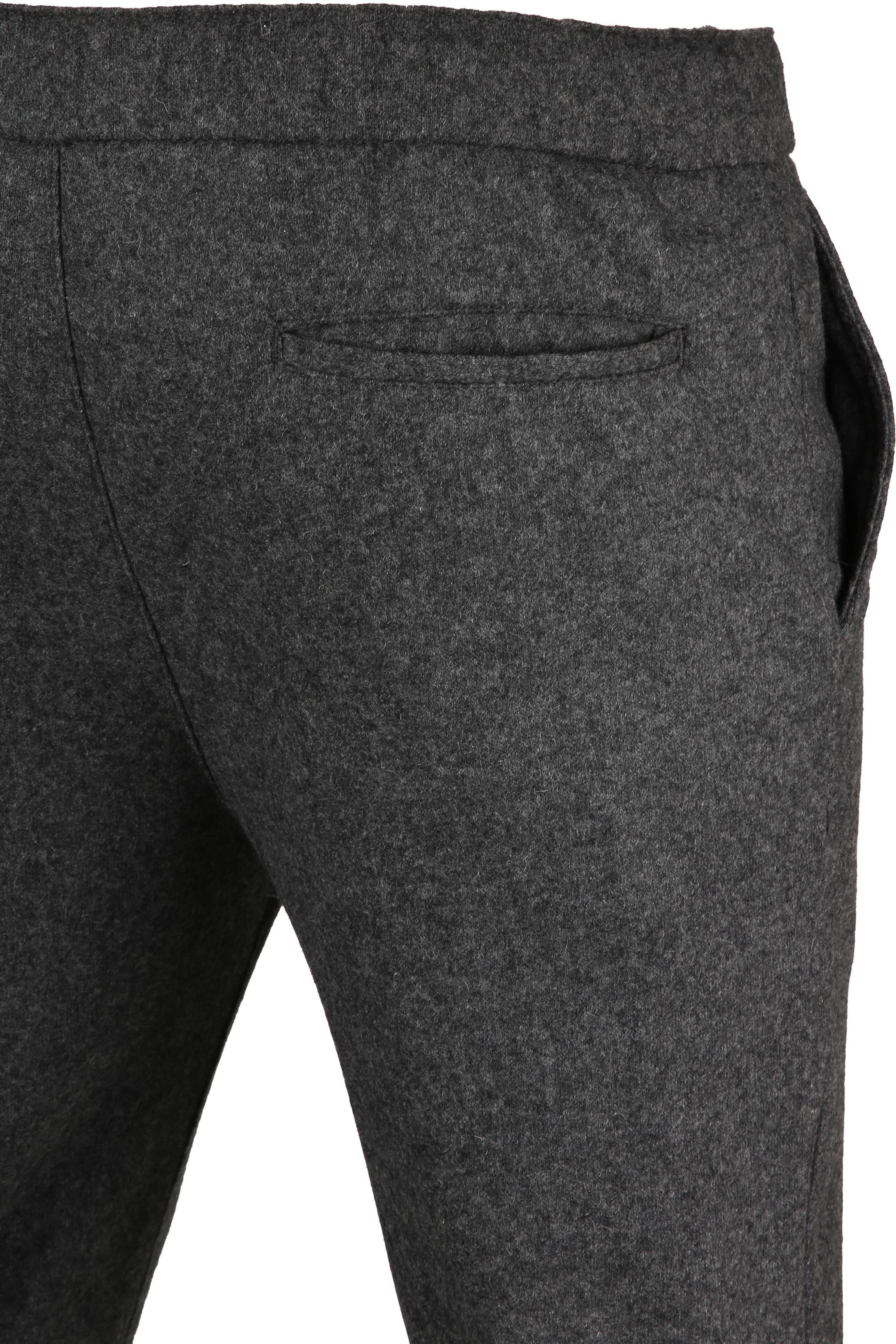 Suitable Easky Pantalon Jersey Antraciet foto 1