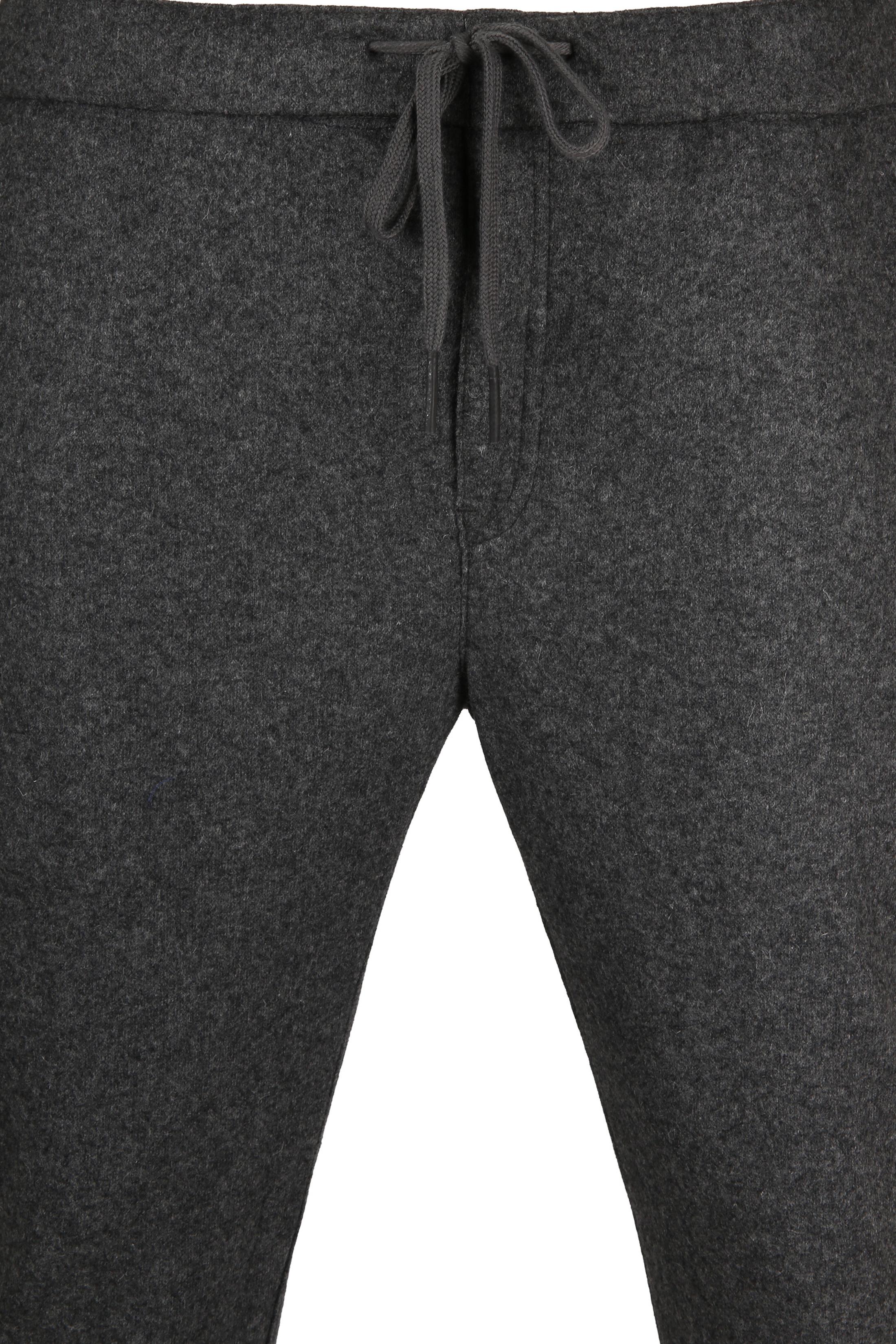 Suitable Easky Pantalon Jersey Antraciet foto 2