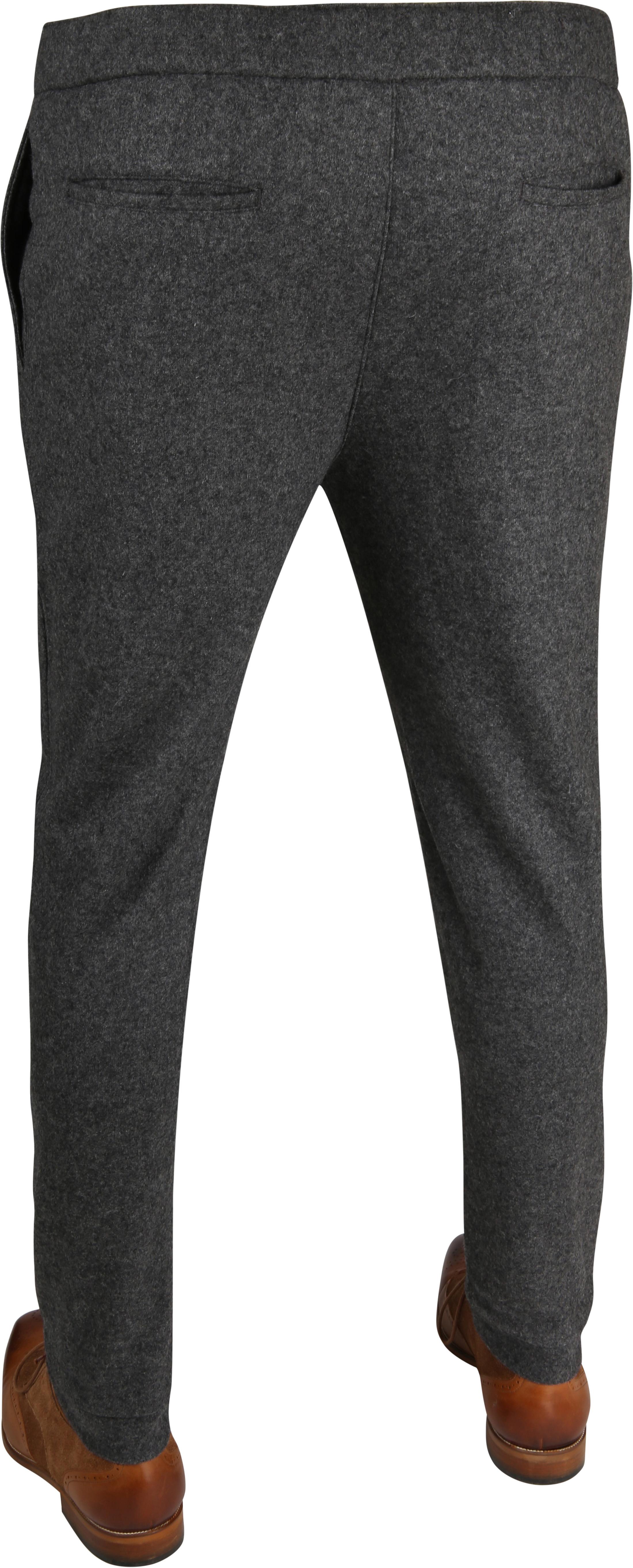 Suitable Easky Pantalon Jersey Antraciet foto 3
