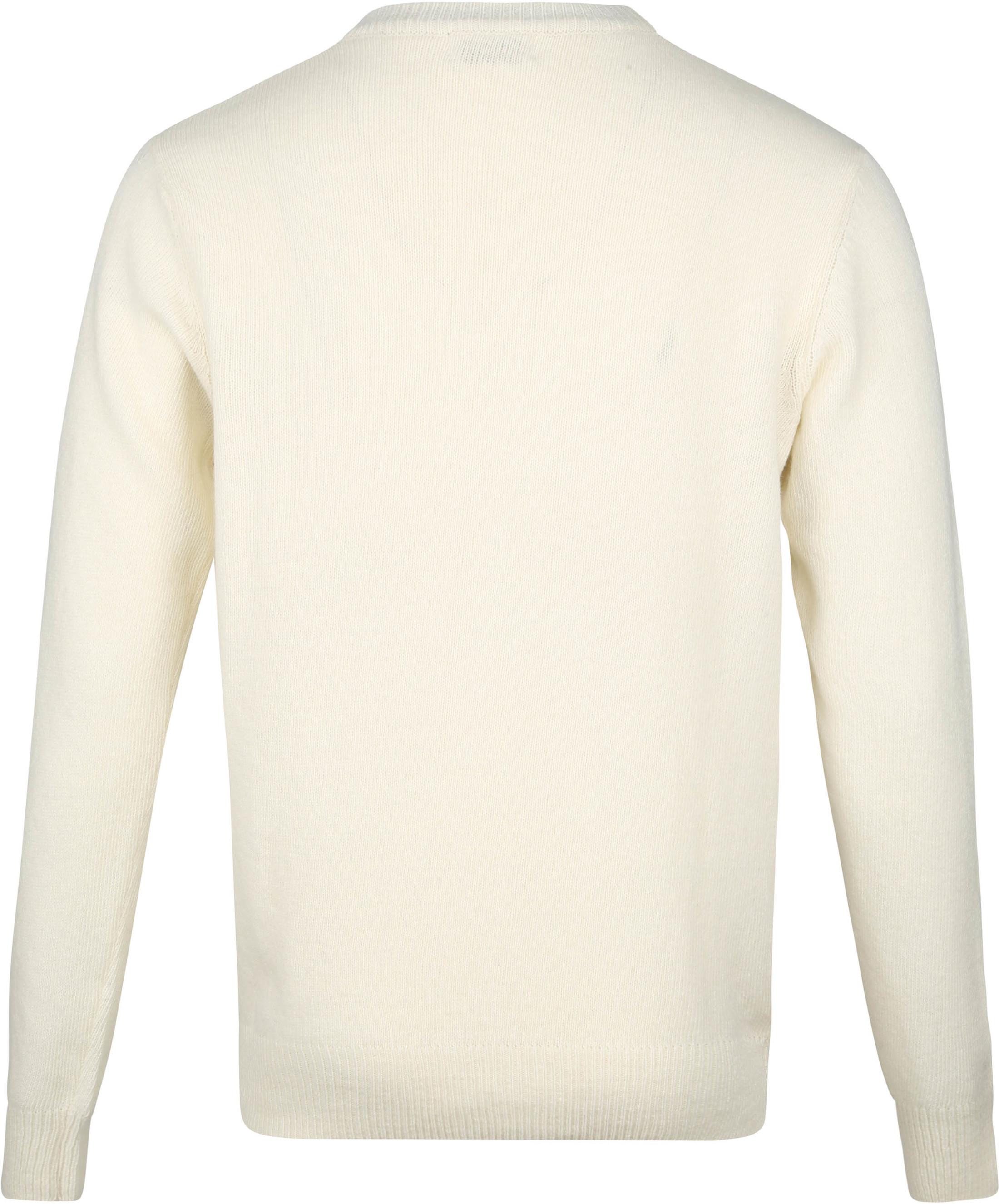 Suitable Fijn Lamswol 7 garen Pullover O-Hals Beige