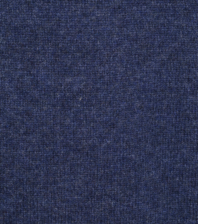Suitable Fine Lambswool 9 gauge Mocker Pullover Navy