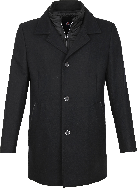 Suitable Geke Coat Black