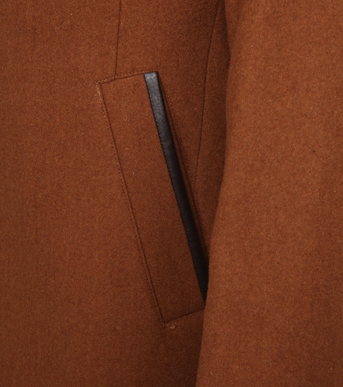 Suitable Geke Coat Karamell foto 3