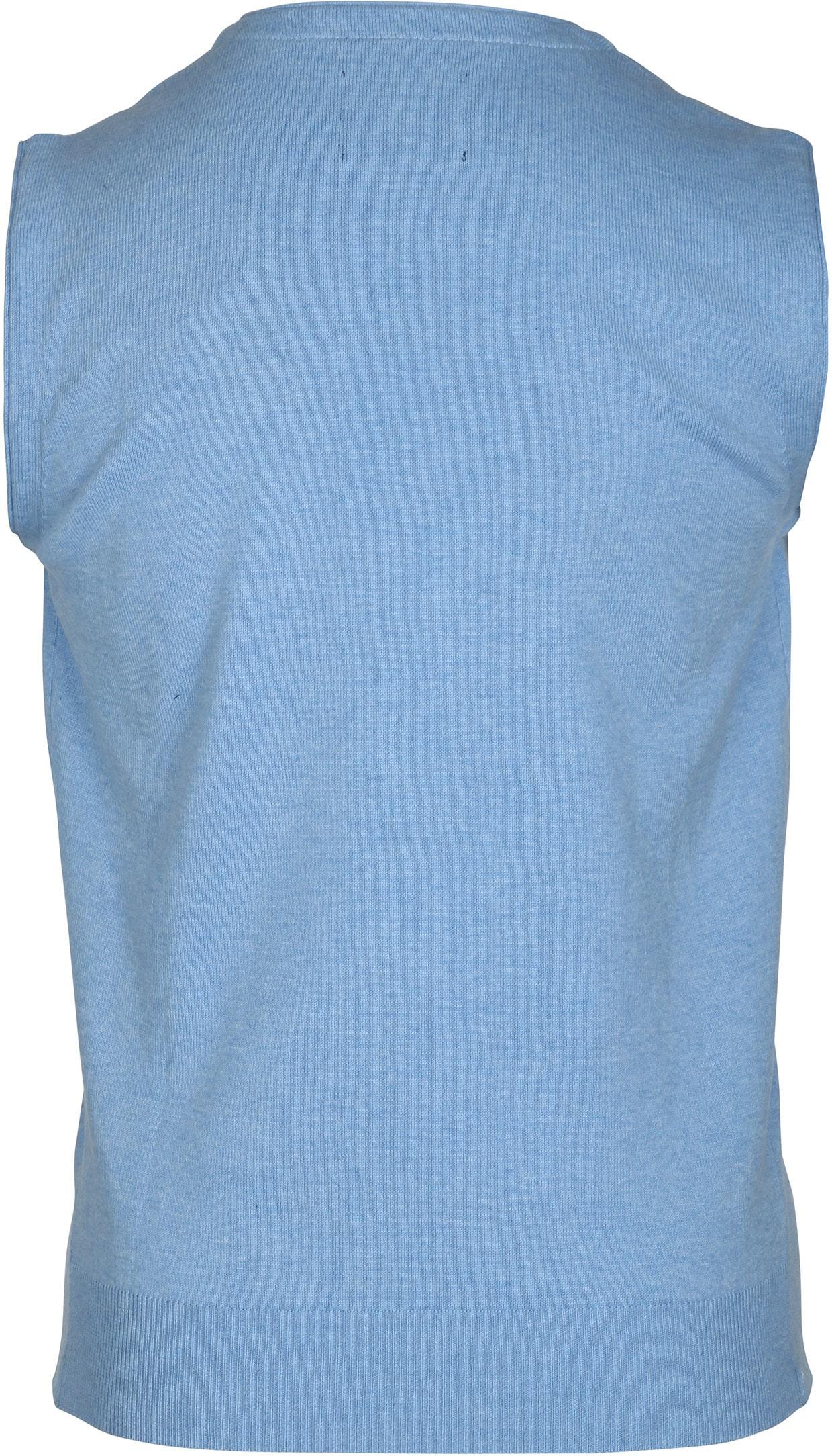 Suitable Gilet Cotton Light Blue foto 2