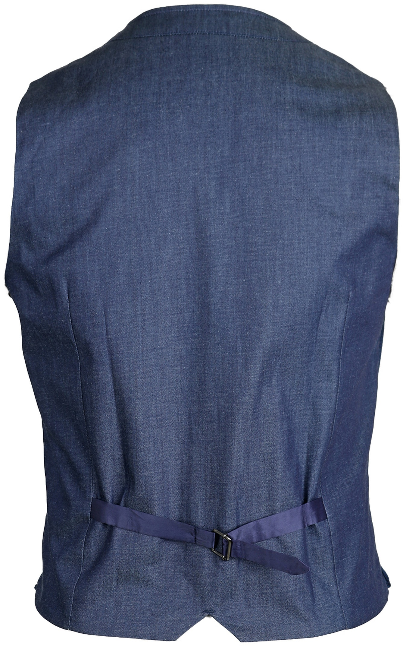 Suitable Gilet Ruit Navy foto 1