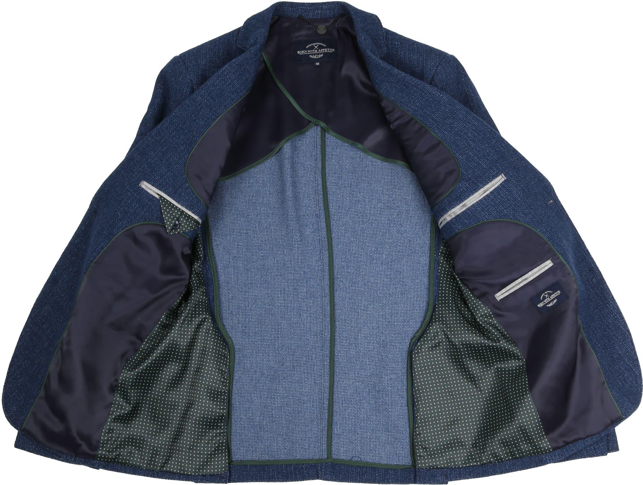 Suitable GO Blue Blazer Blau foto 3