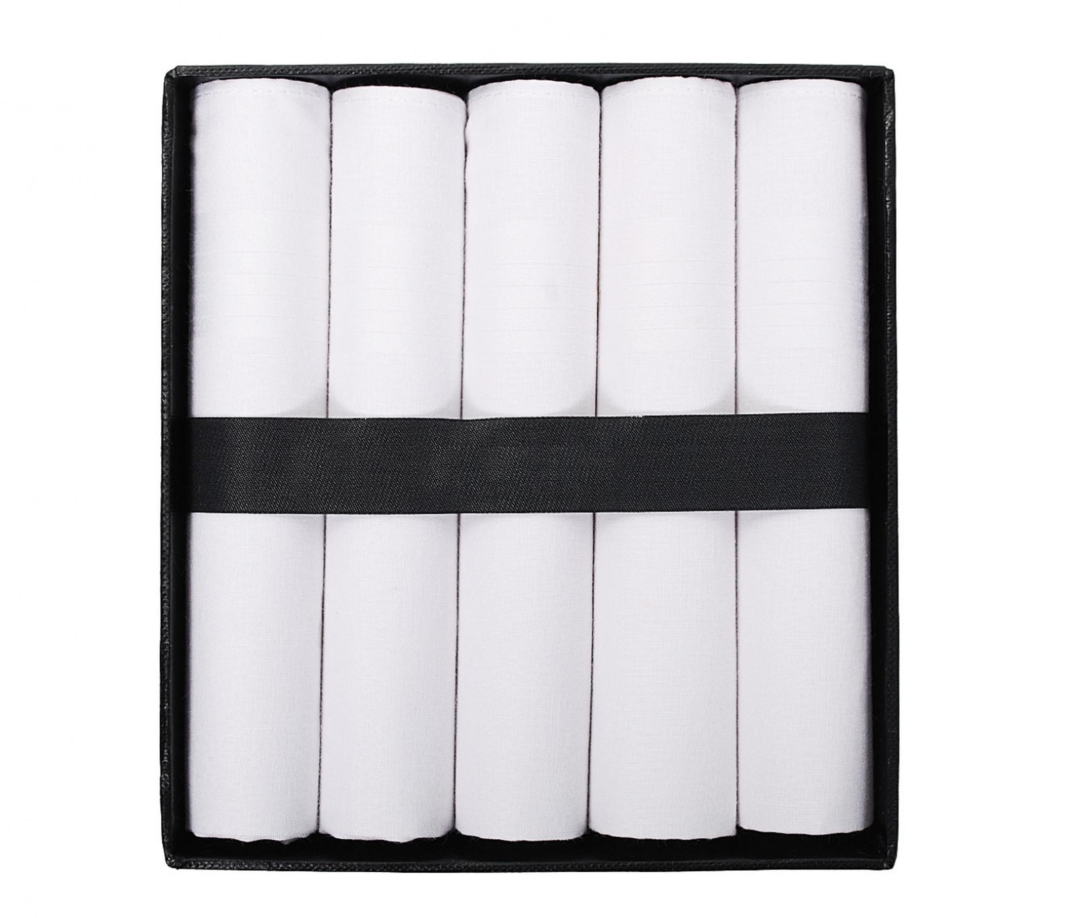 Suitable Handkerchief Set White foto 0