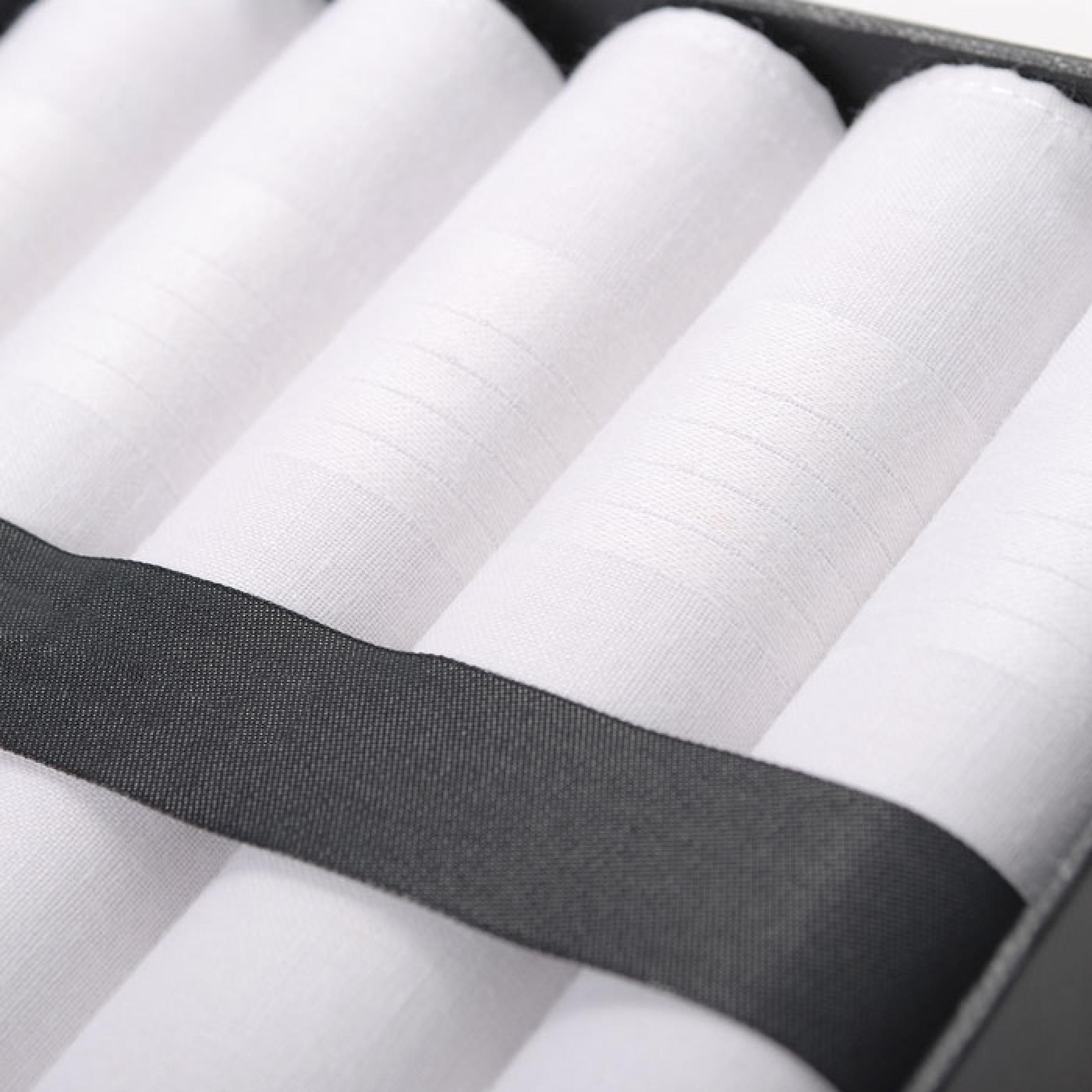 Suitable Handkerchief Set White foto 1