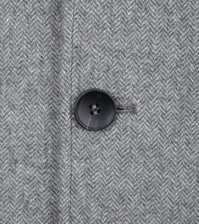 Suitable Hans Coat Herringbone Grijs foto 2