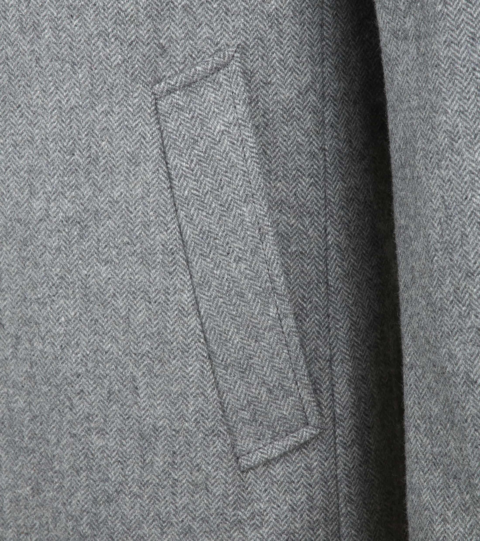 Suitable Hans Coat Herringbone Grijs foto 3