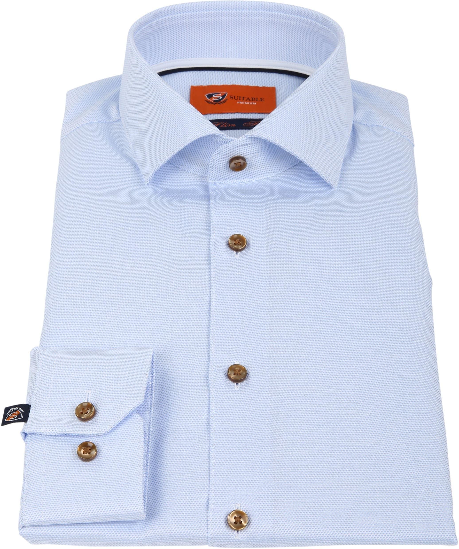 Suitable Hemd Blau D81-09 foto 2
