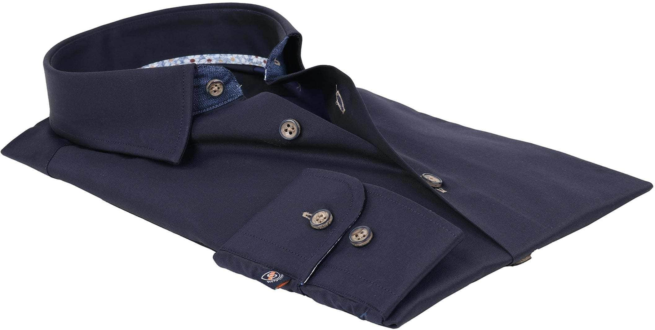 Suitable Hemd Navy Twill foto 2