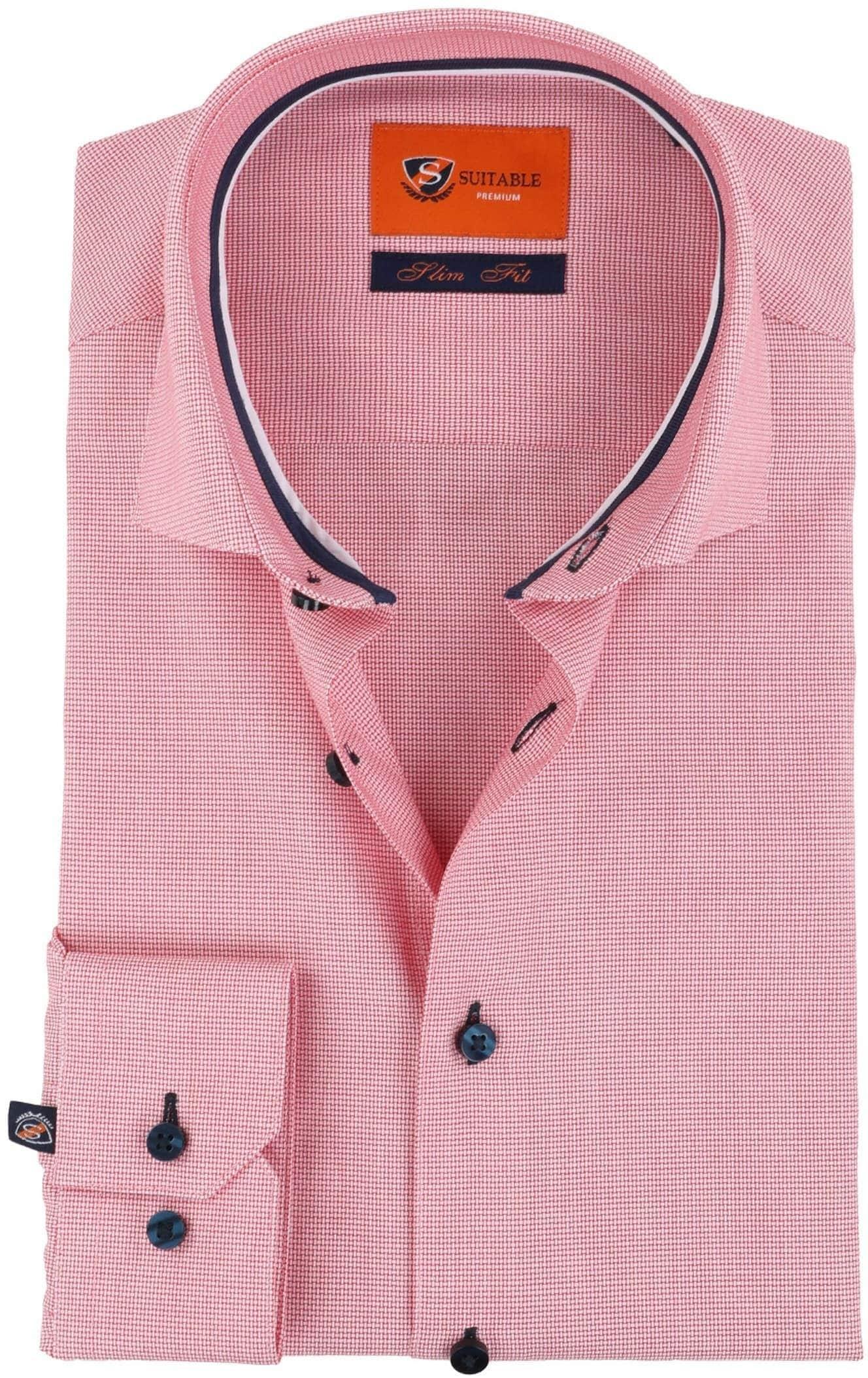 reputable site fb5fb f3355 Suitable Hemd Panama Rot D81-03 online kaufen | Suitable