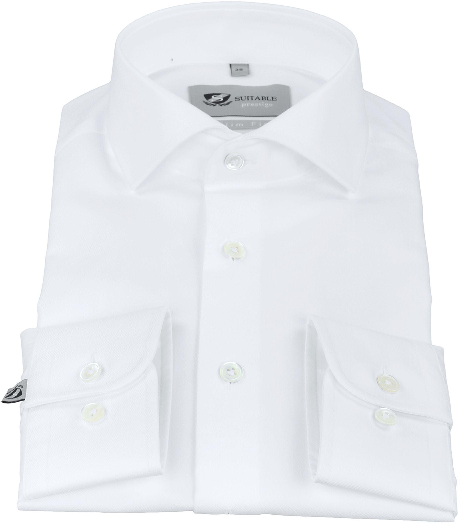 Suitable Hemd Prestige Albini Weiß foto 1
