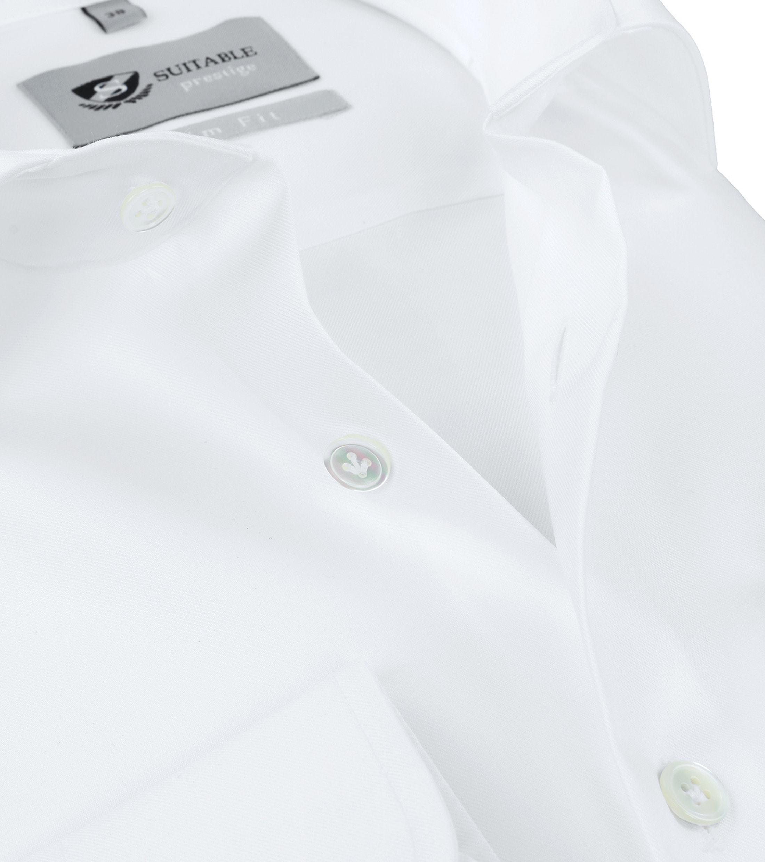 Suitable Hemd Prestige Albini Weiß foto 2