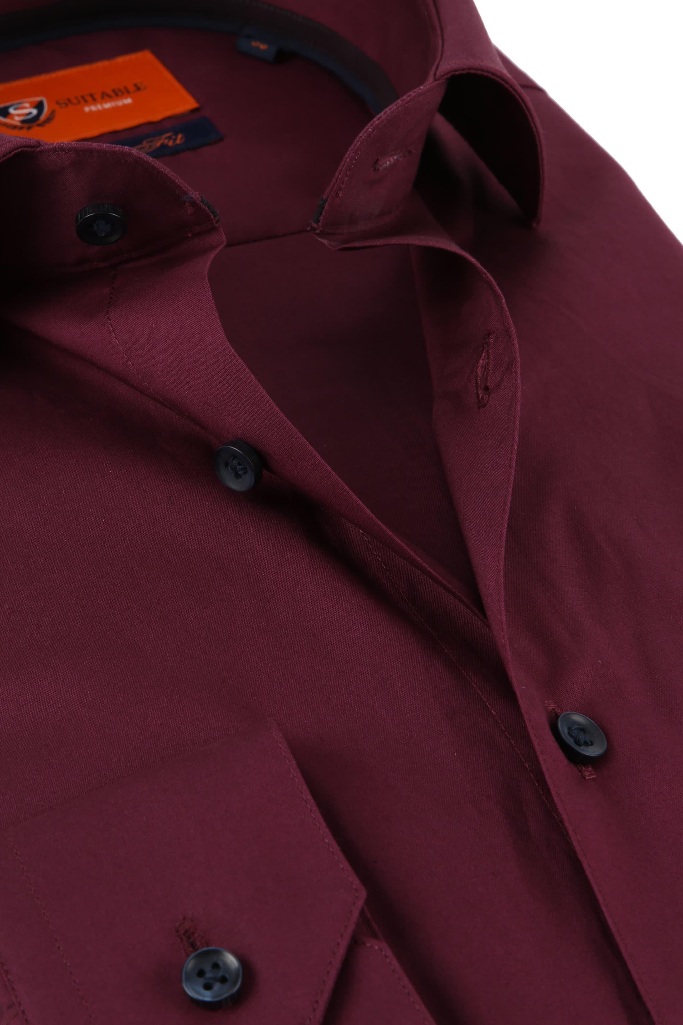 outlet store sale 1b79a 02003 Suitable Hemd SF Bordeaux D82-12 online kaufen   Suitable