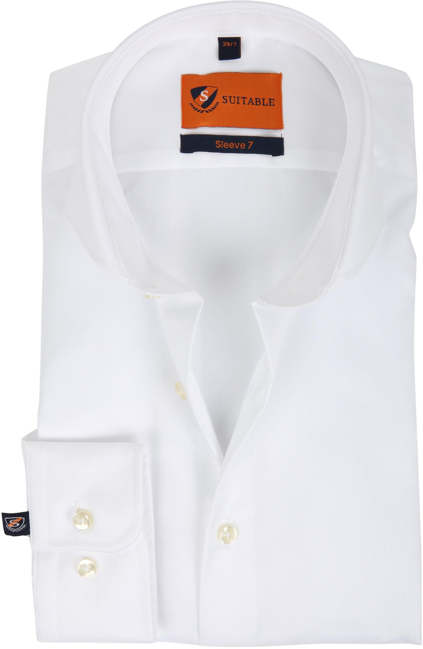 Suitable Hemd SL7 Weiß 180-1 foto 0