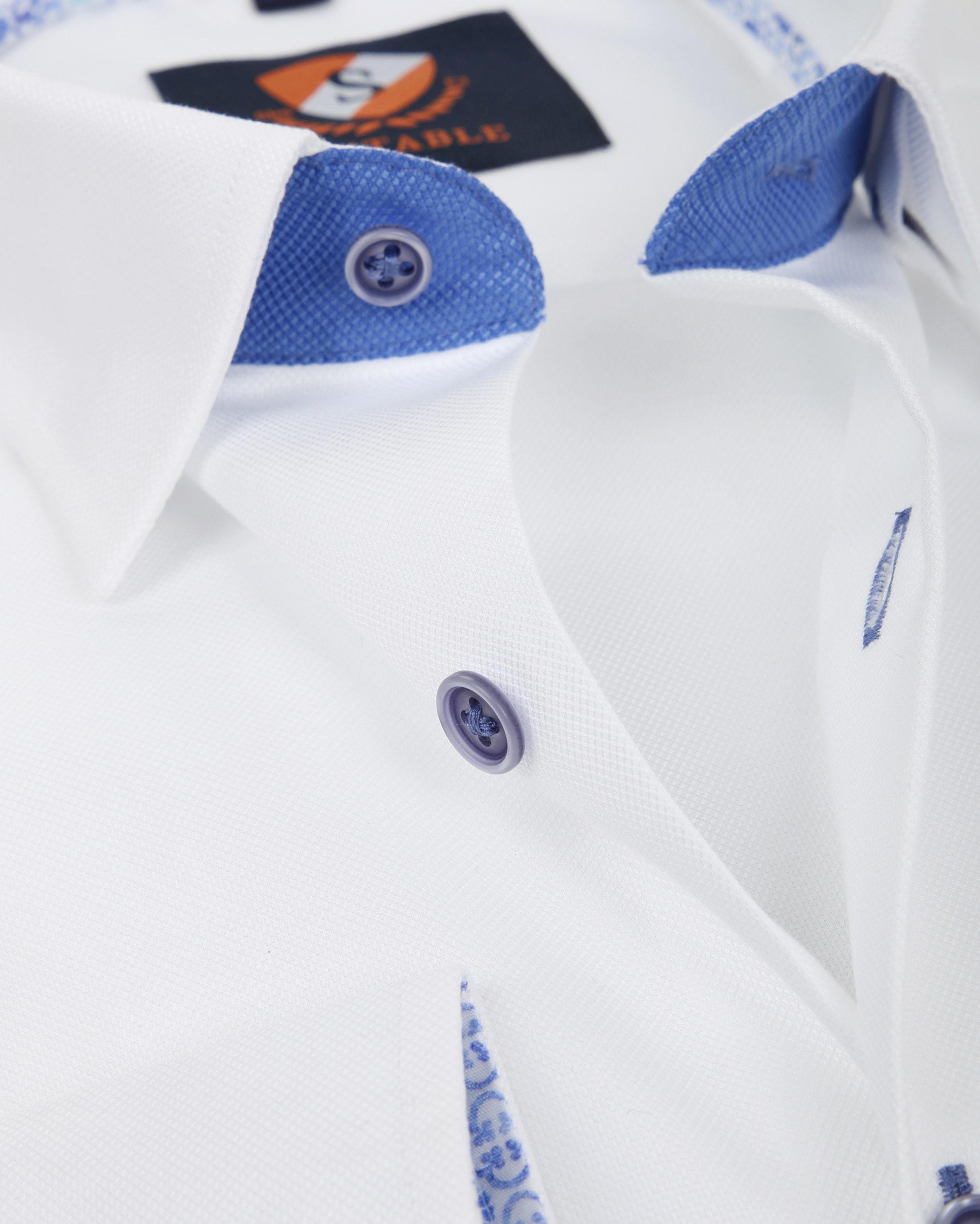 Suitable Hemd Weiß 181-1 foto 1