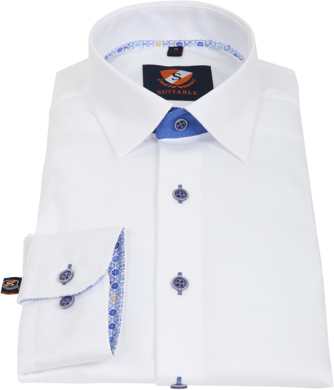 Suitable Hemd Weiß 181-1 foto 2