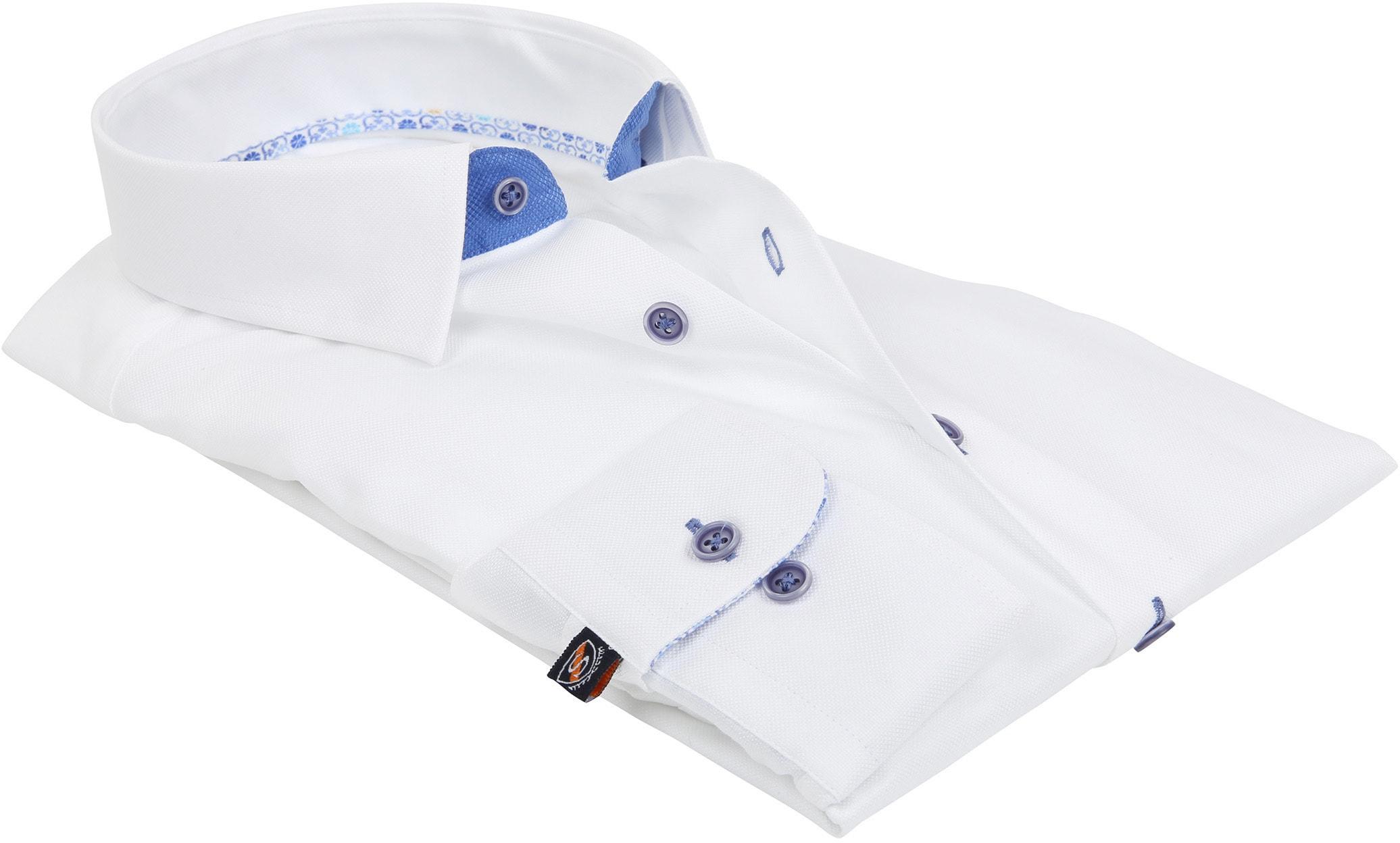 Suitable Hemd Weiß 181-1 foto 3
