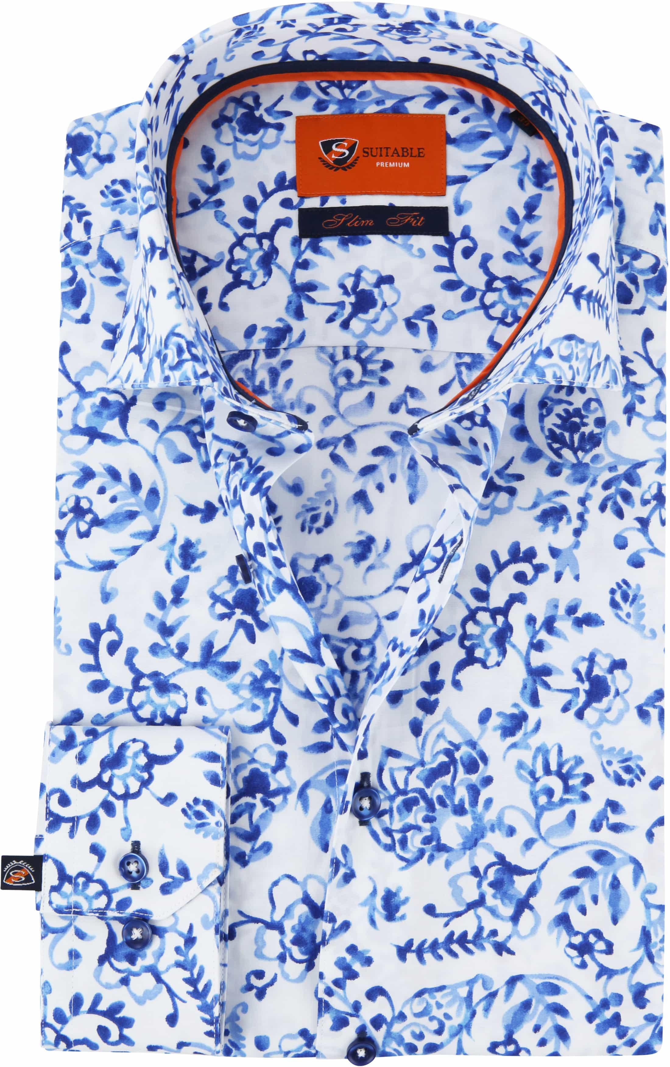 Suitable Hemd WS Delfts Blau foto 0