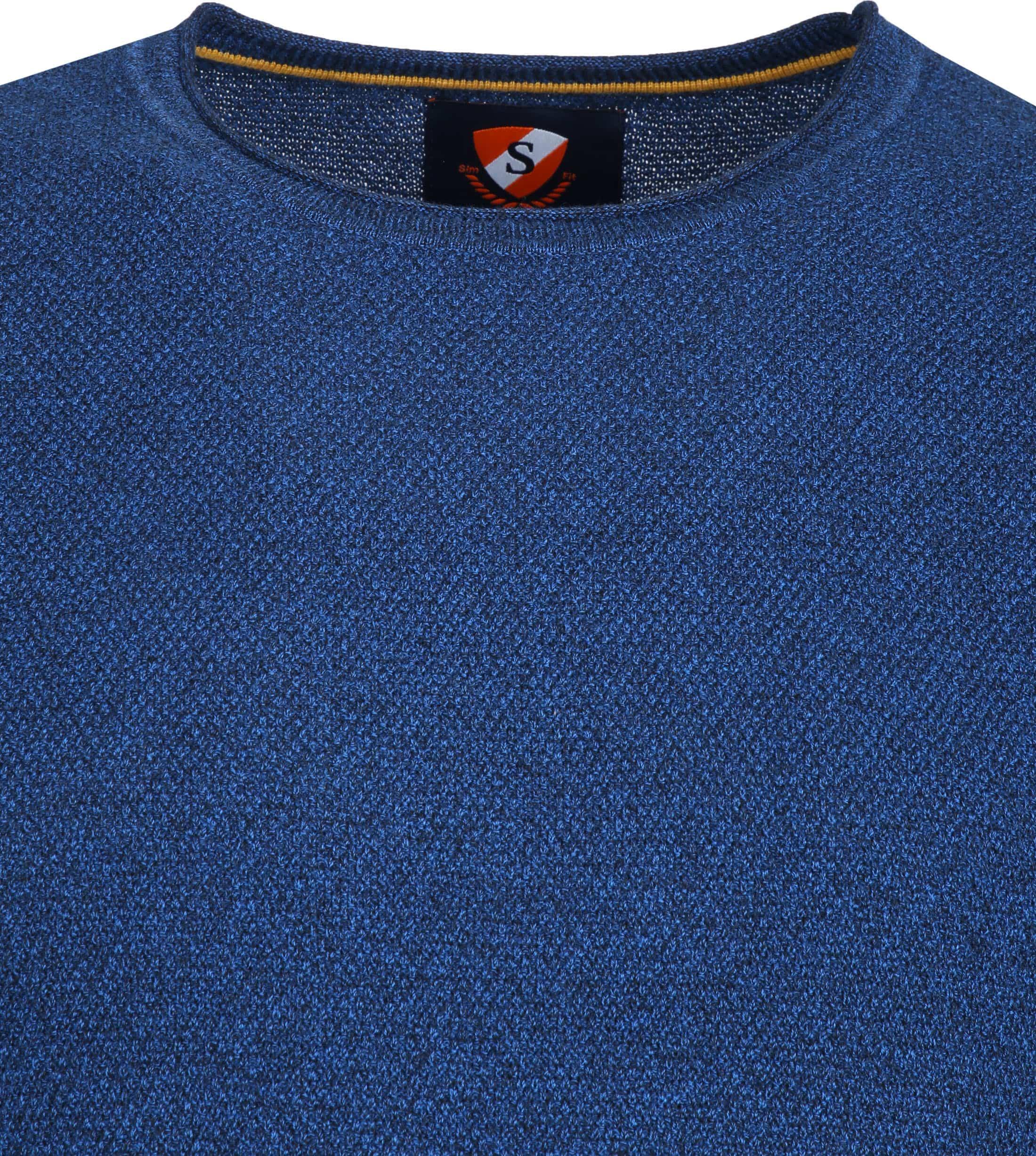 Suitable Hong Pullover Blue foto 1