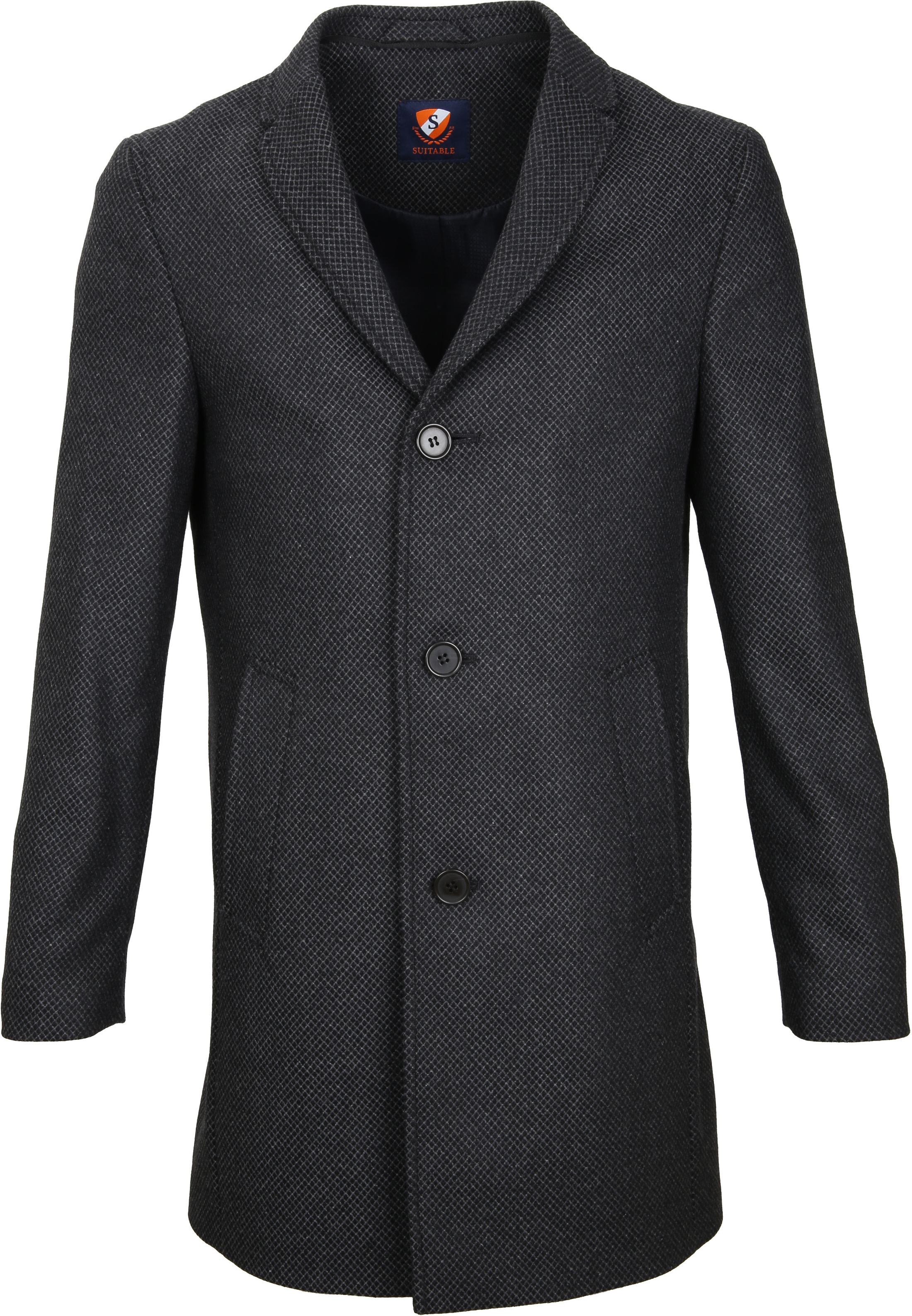 Suitable Jacke Hans Diamond Grau foto 1