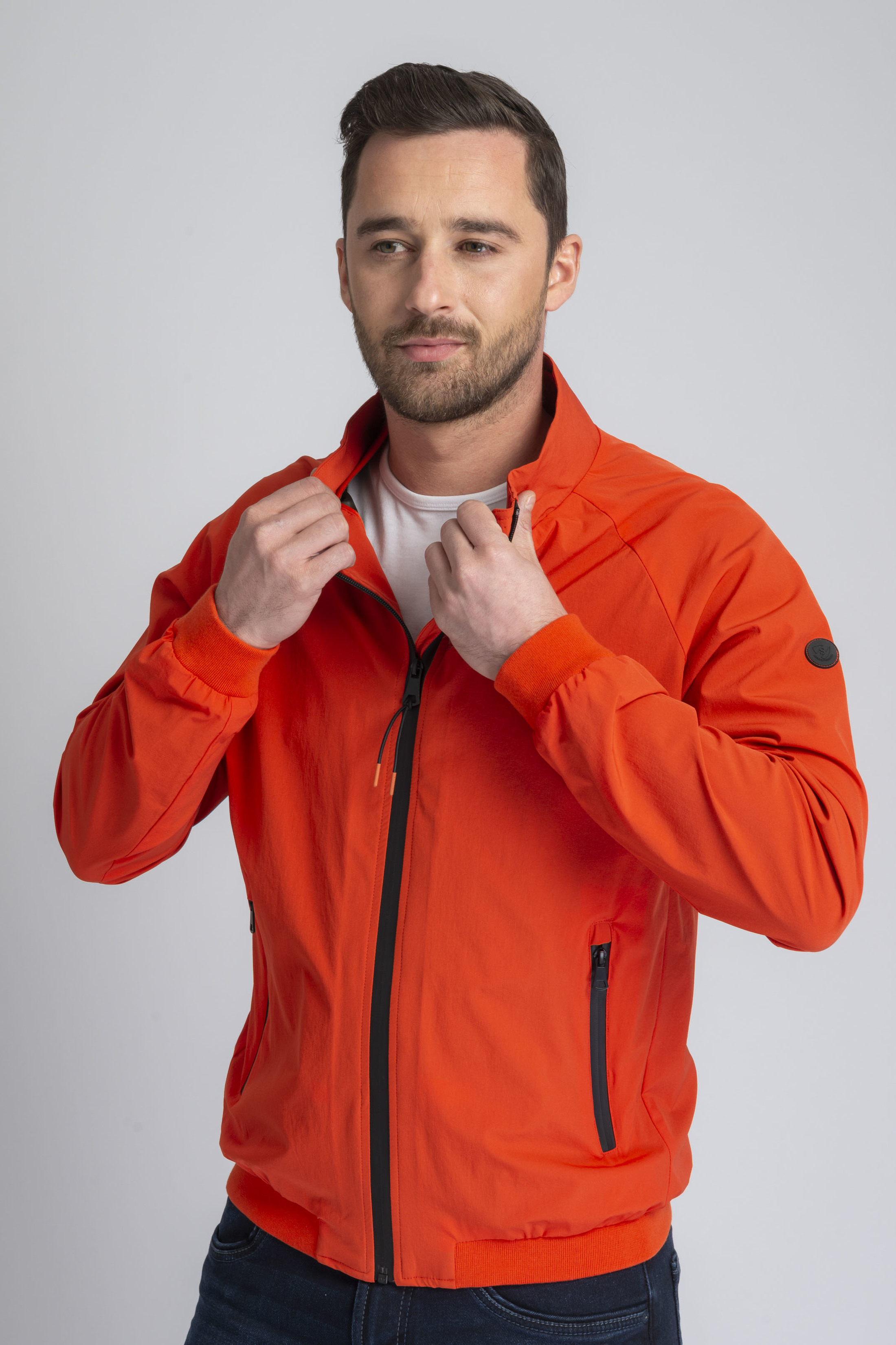 Suitable Jacket Rich Orange foto 6