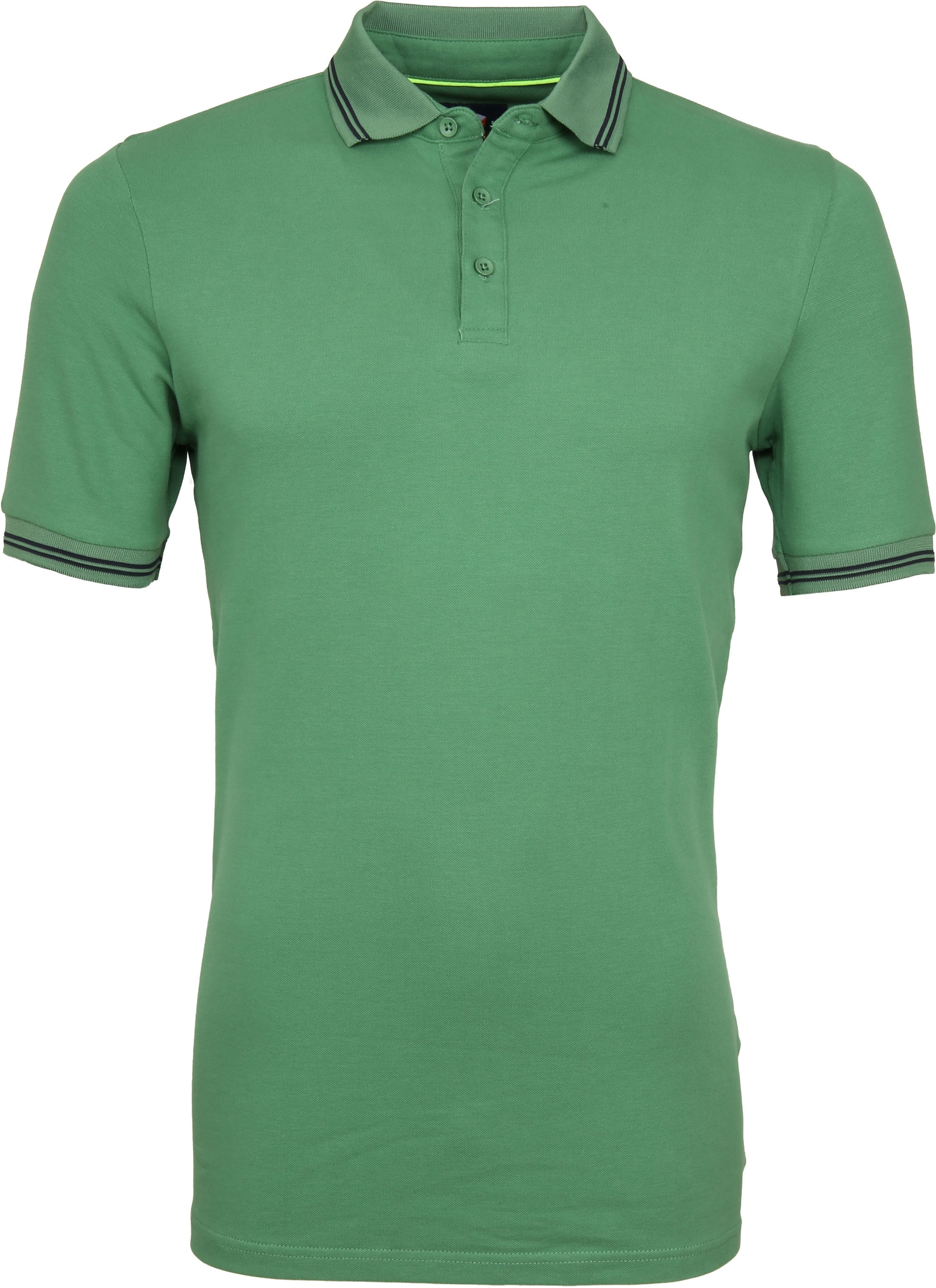 Suitable Jason Polo Stretch Groen foto 0