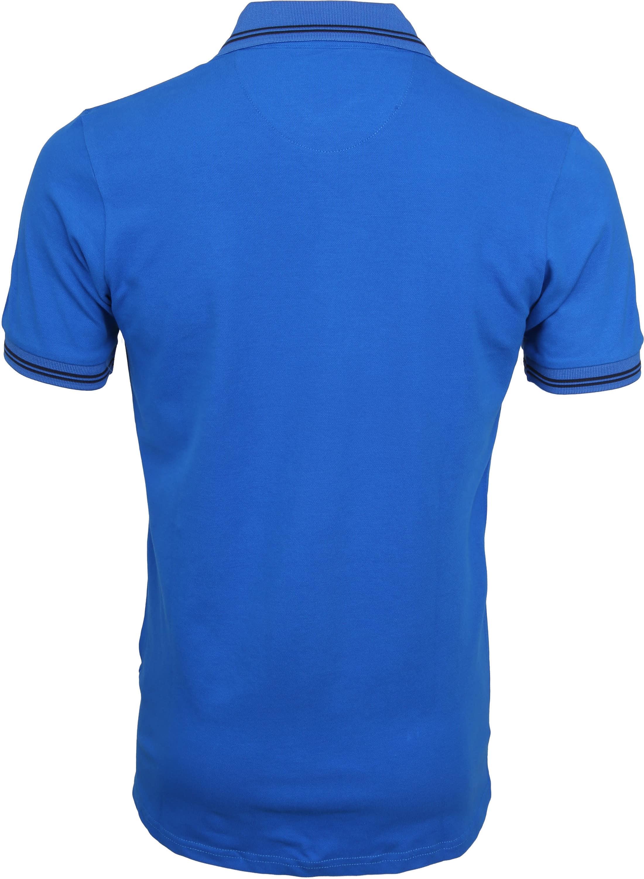 Suitable Jason Poloshirt Stretch Blau foto 3