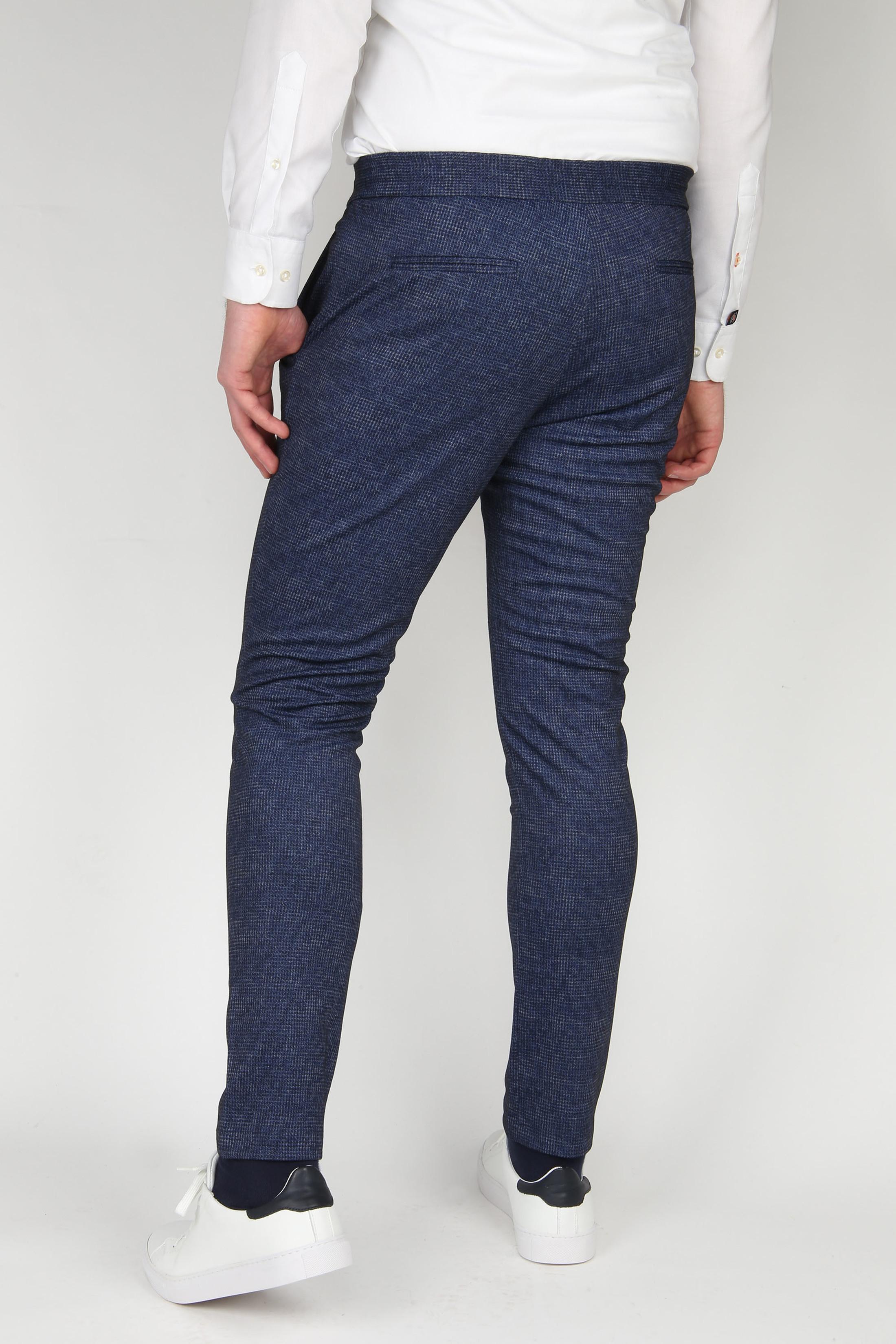 Suitable Jog Pantalon Donkerblauw
