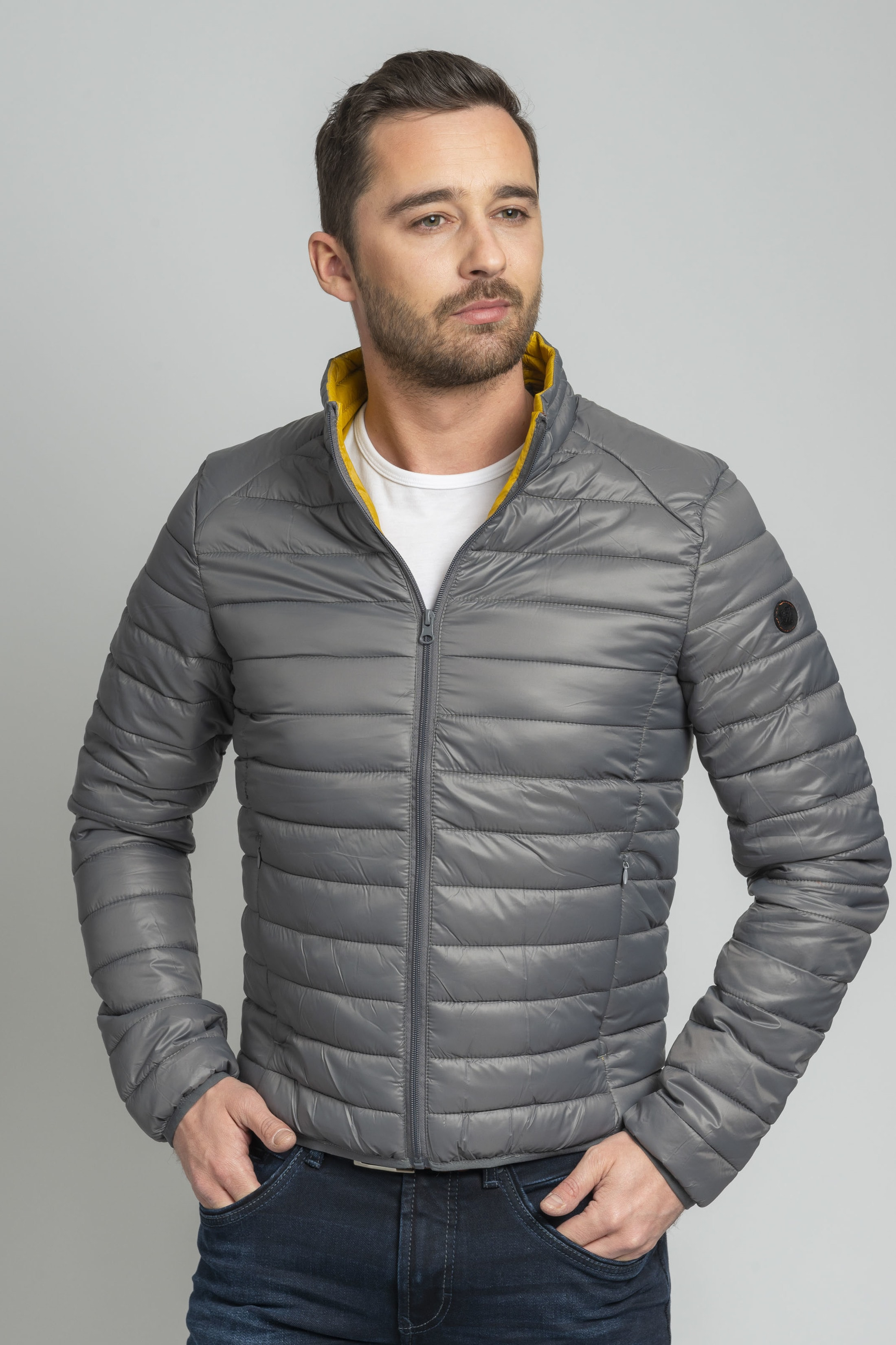 Suitable Jon PCK Jacket Grey foto 6