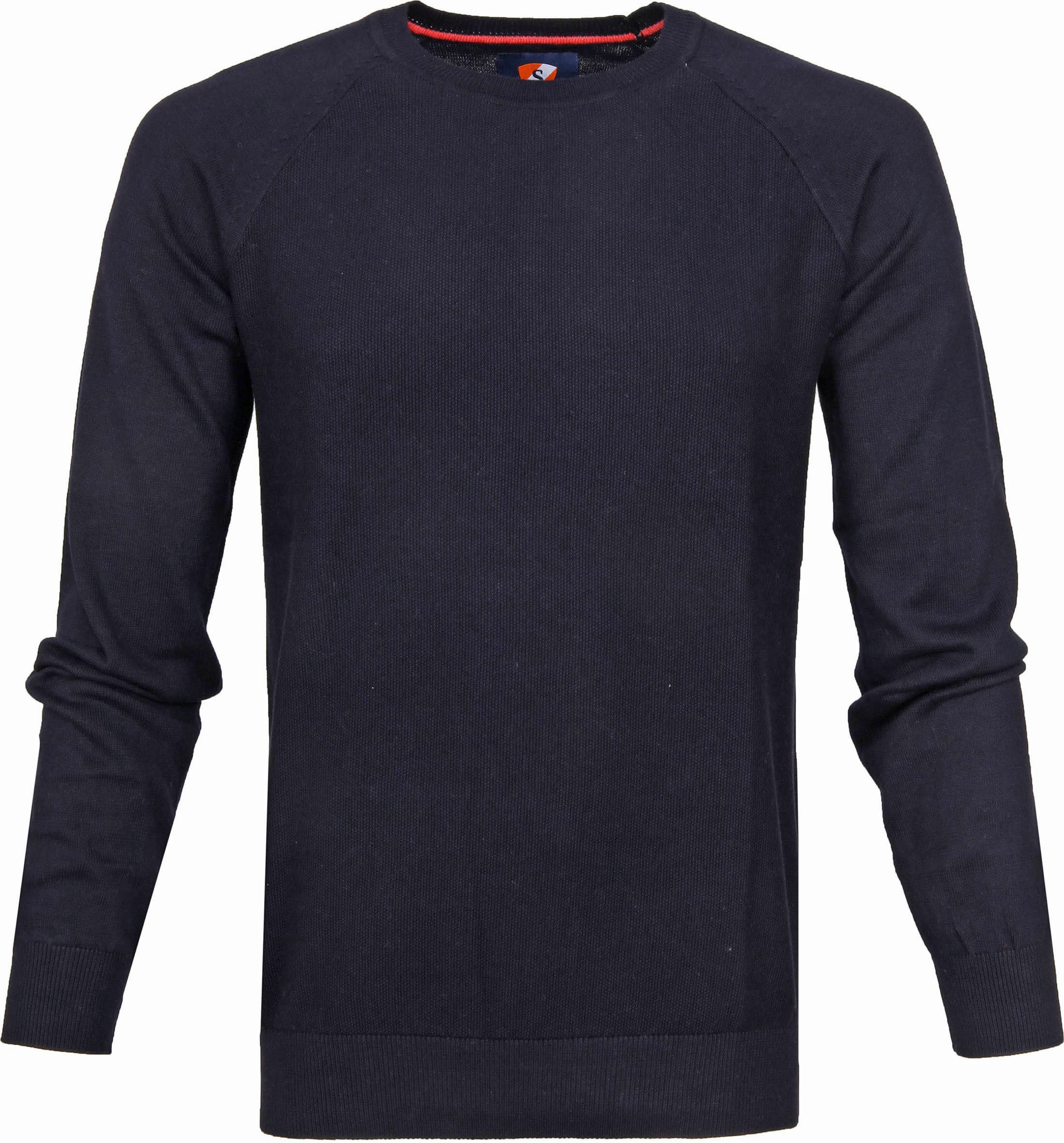 Suitable Katoen Sweater Ben Navy