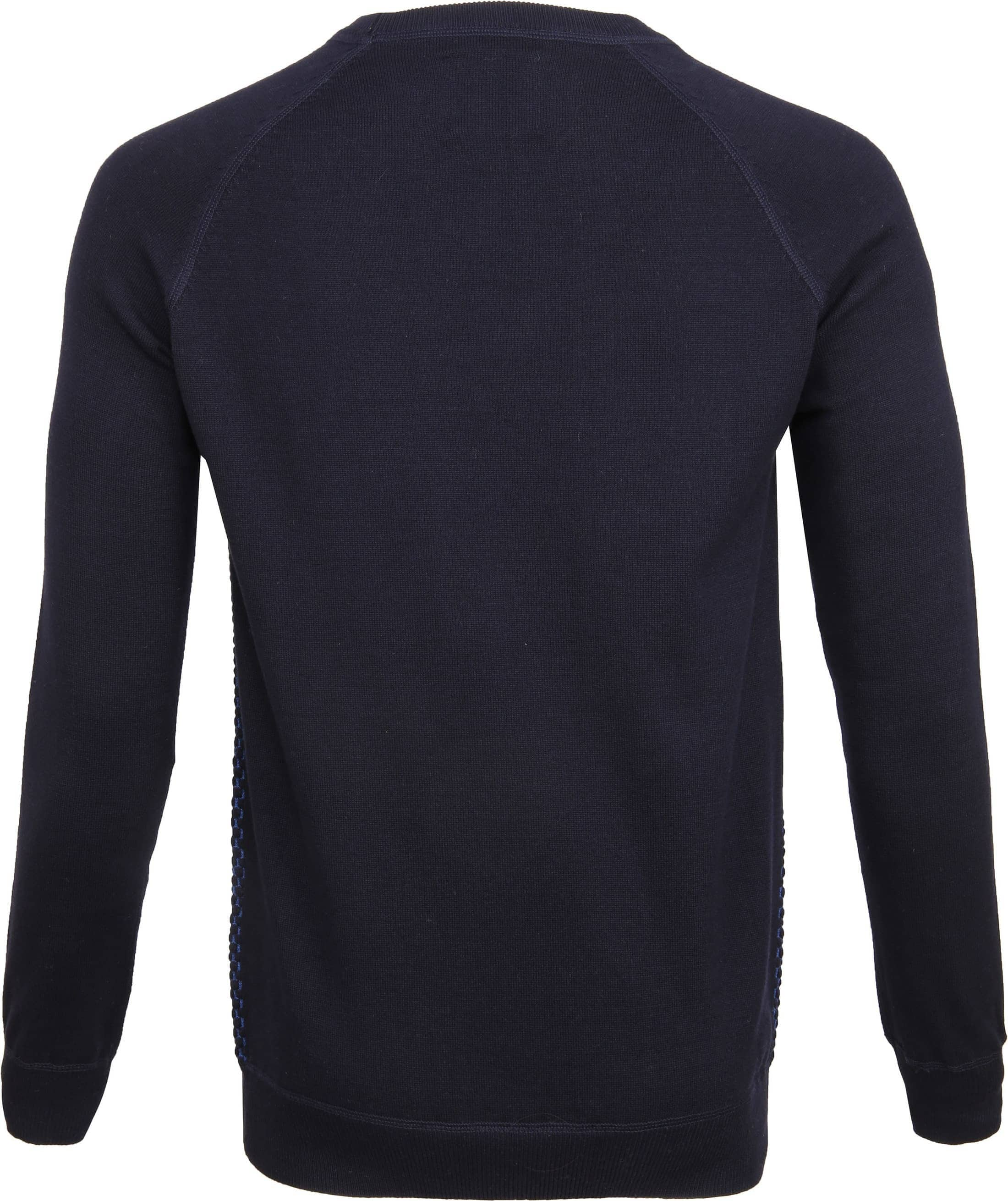 Suitable Katoen Trui Harry Navy Blauw