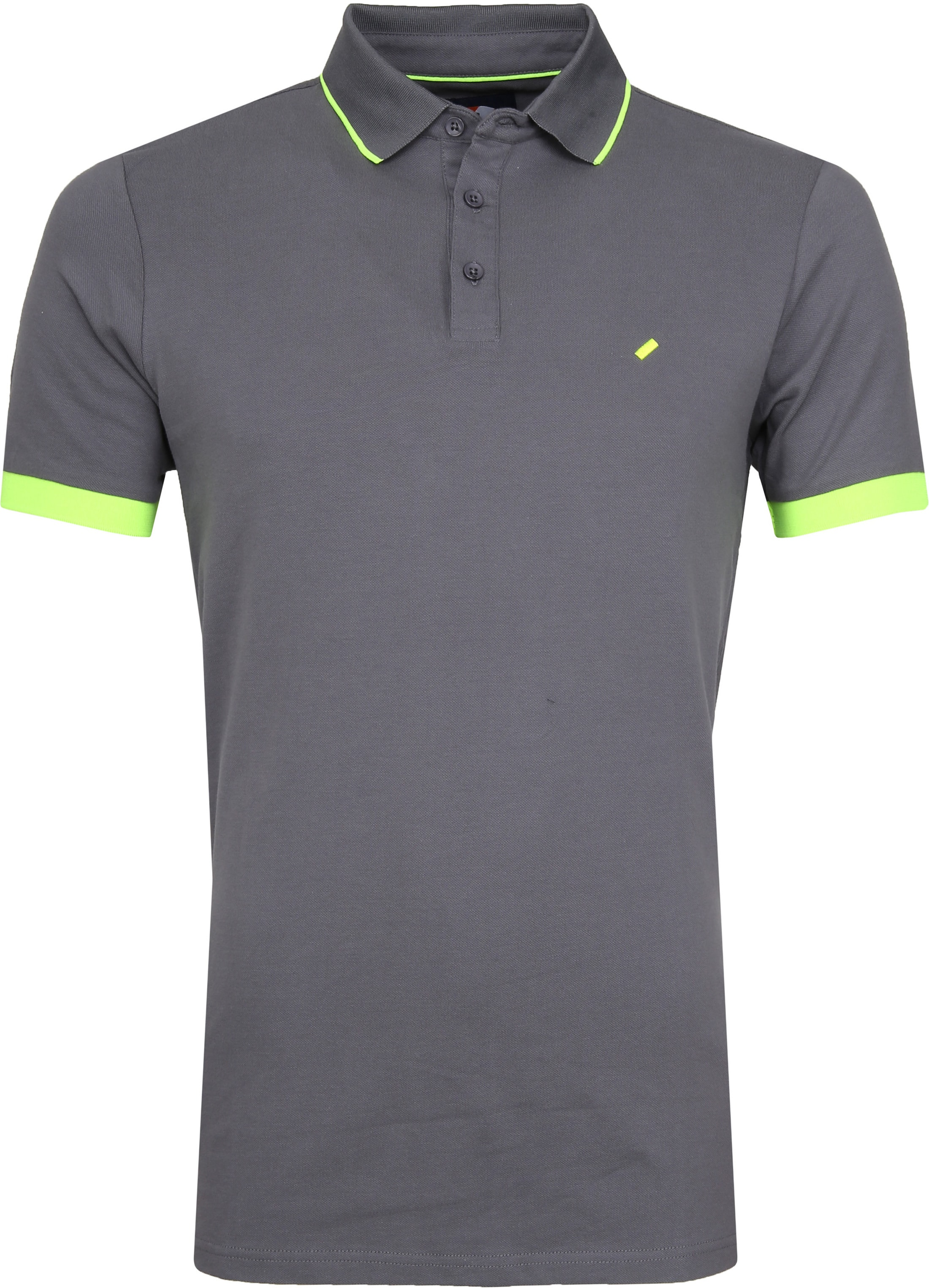 Suitable Kevin Poloshirt Grey foto 0