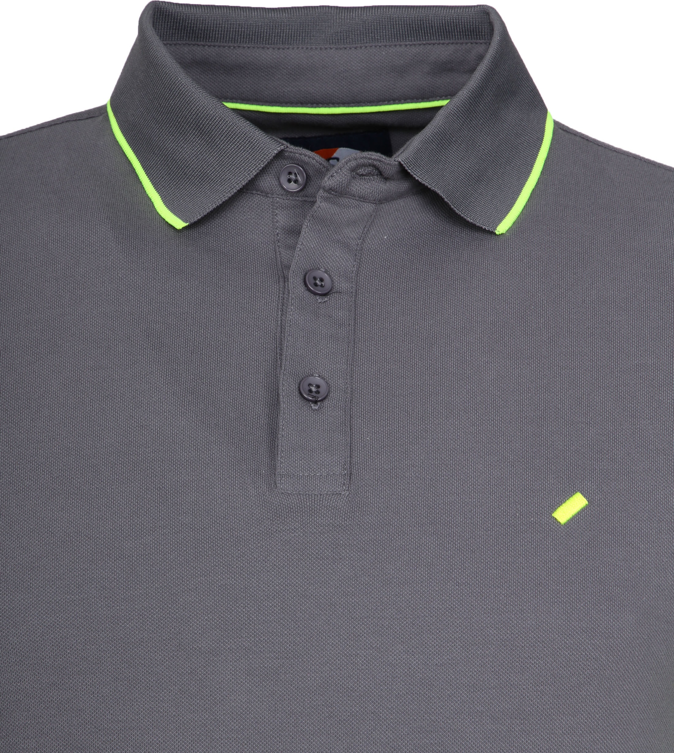 Suitable Kevin Poloshirt Grey foto 1