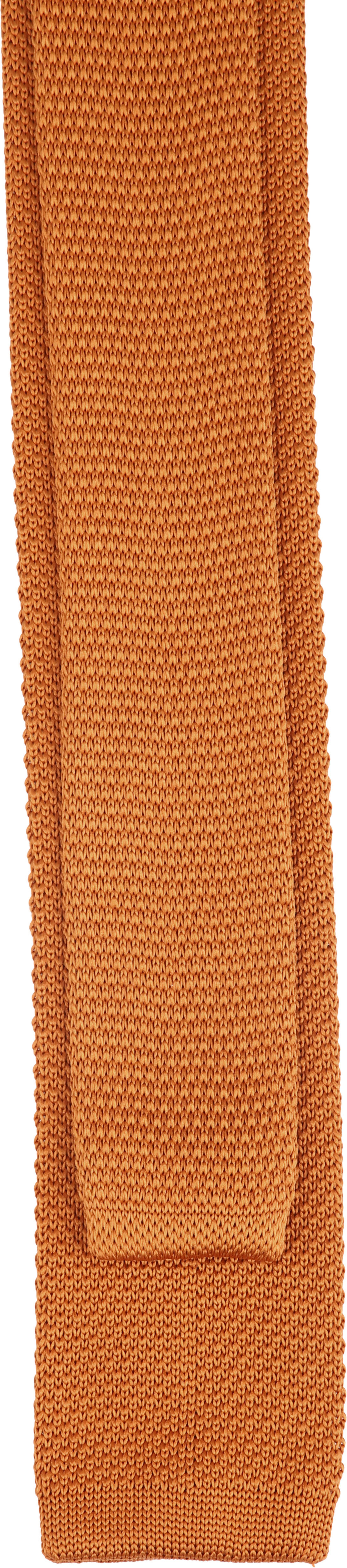 Suitable Knitted Stropdas Oranje foto 2