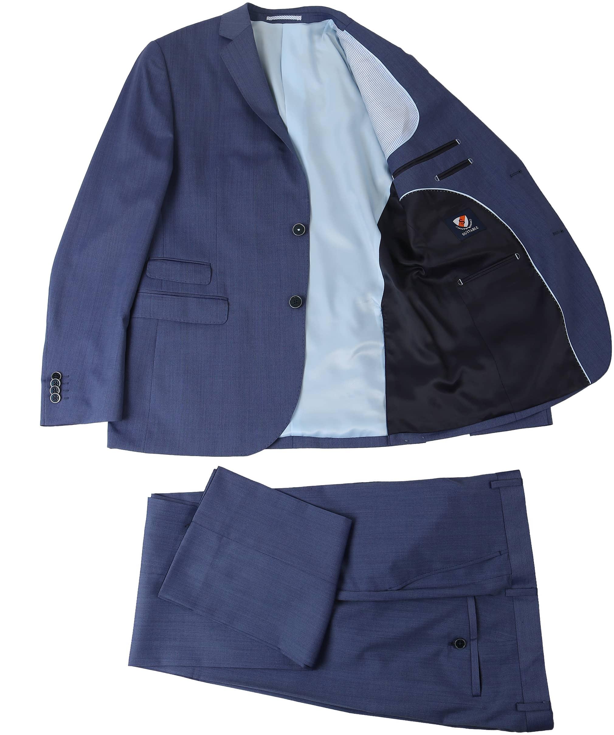 Suitable Kostuum Amsterdam Blauw foto 3