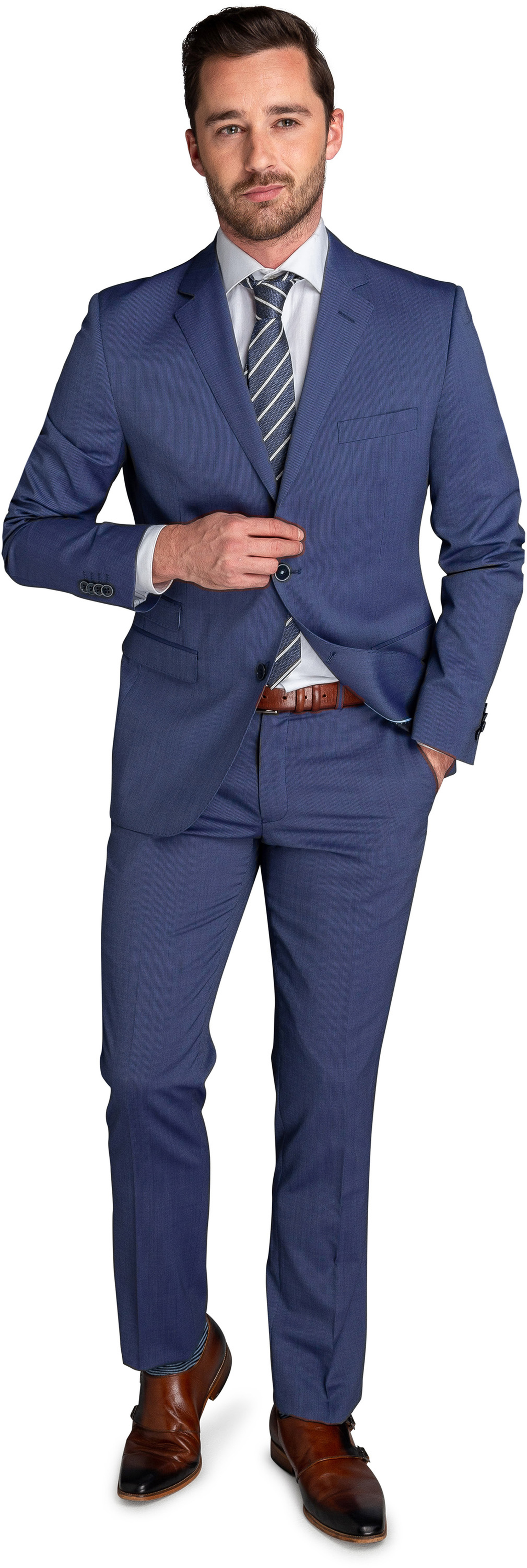 Suitable Kostuum Amsterdam Blauw foto 0