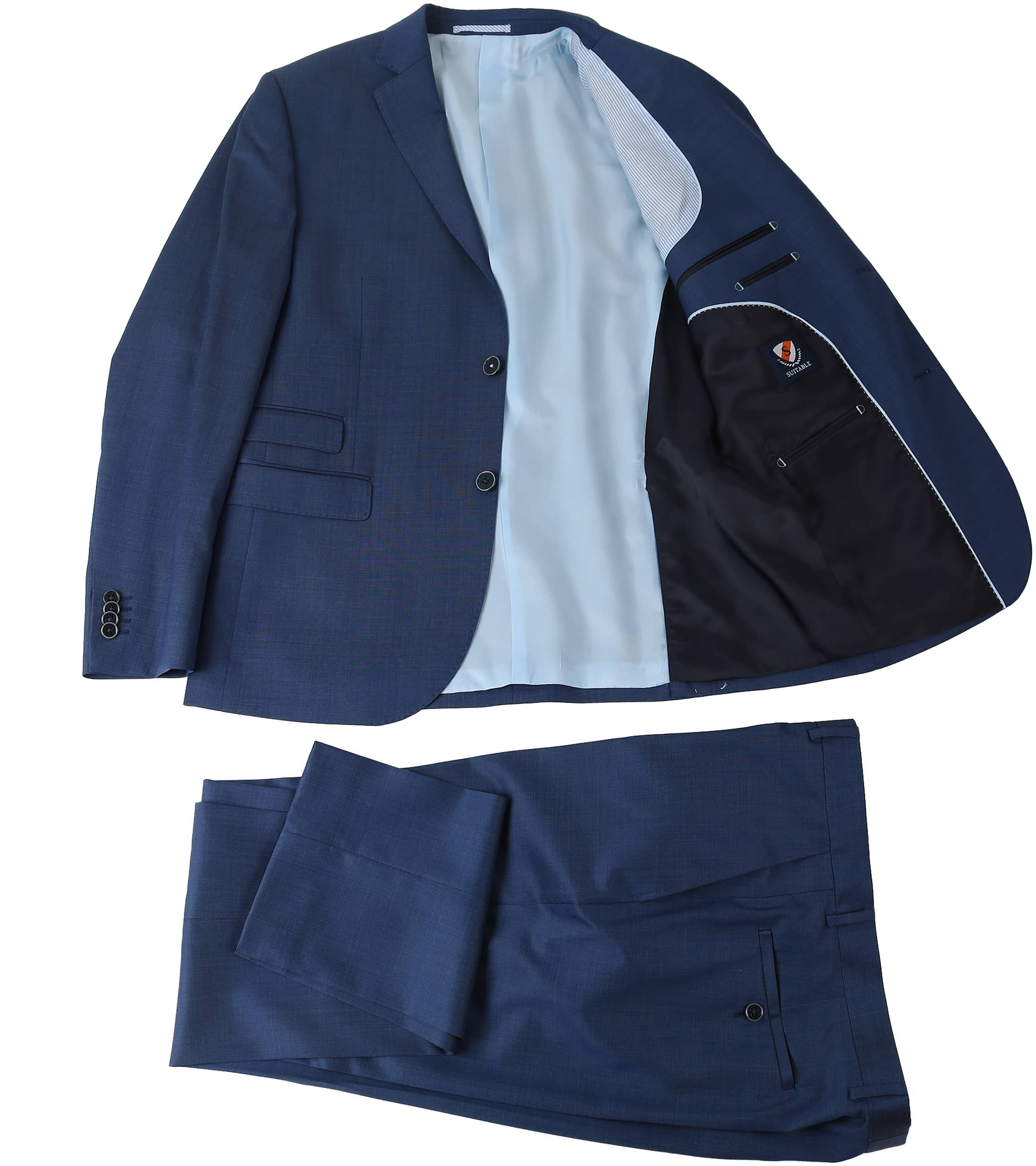 Suitable Kostuum Berlijn Blauw foto 3