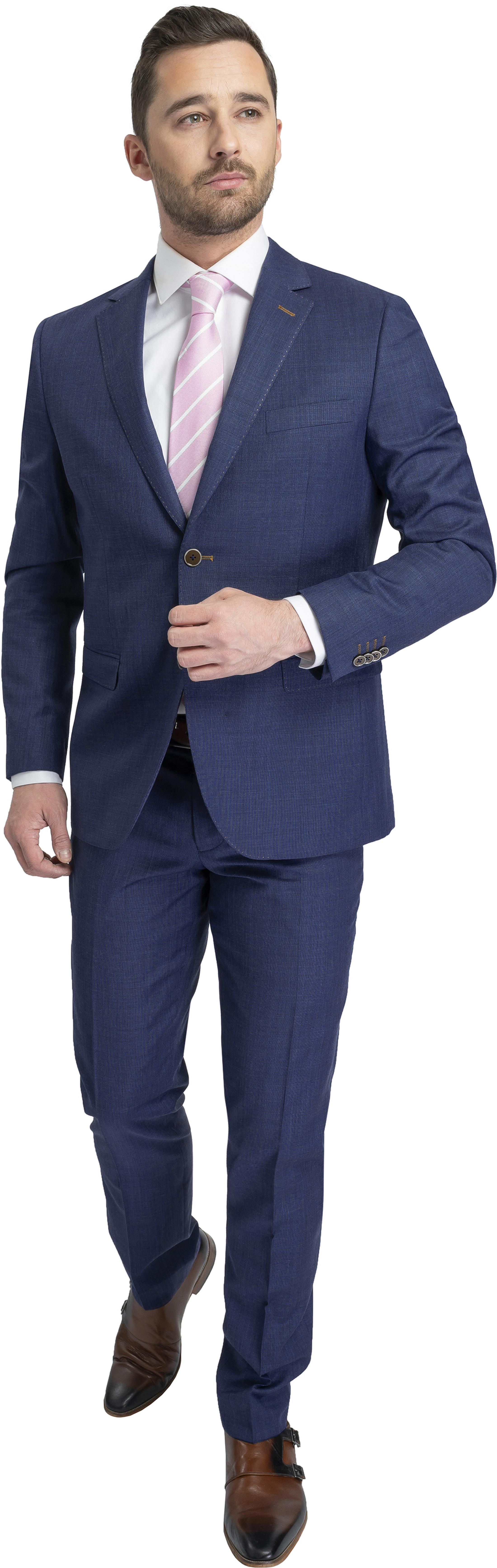 Suitable Kostuum Lucius Elos Blauw foto 0