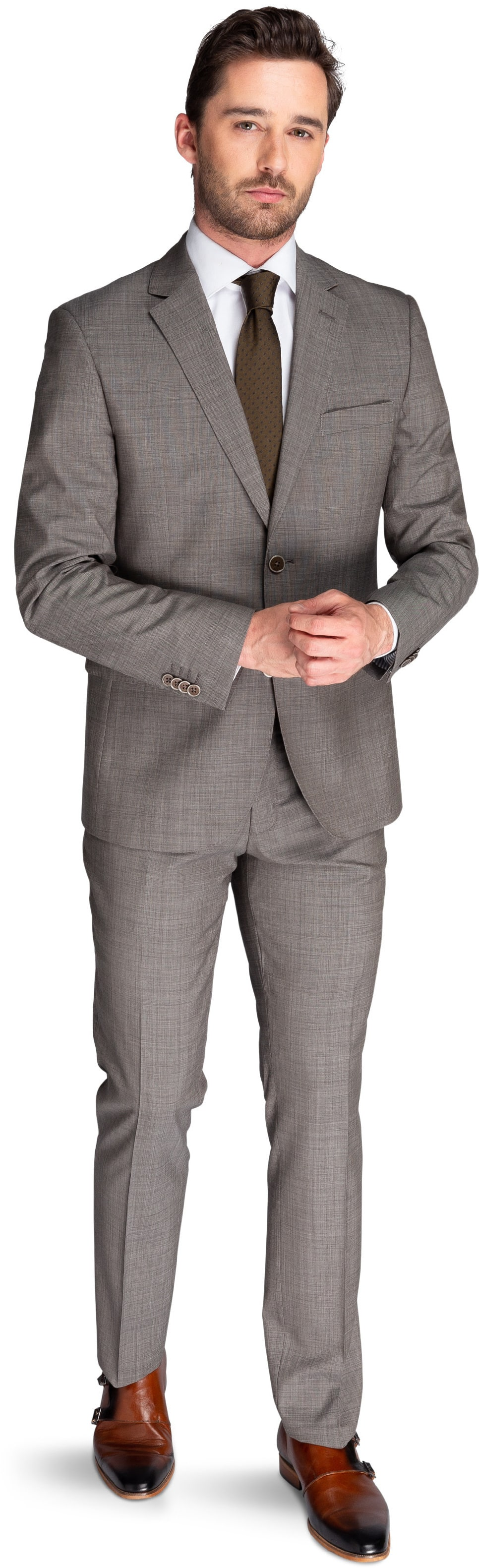 Suitable Kostuum Lucius Light Brown foto 0