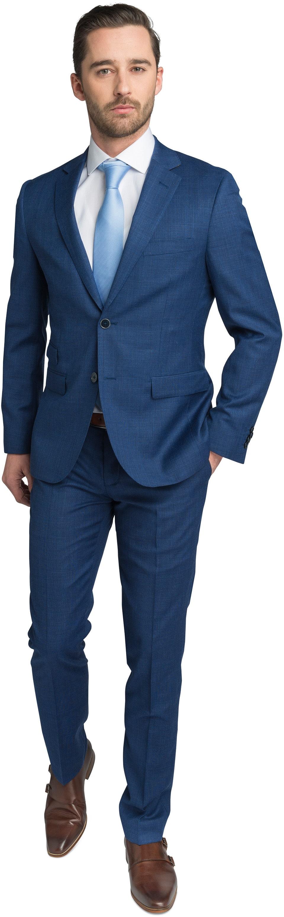 Suitable Kostuum Navy Lucius foto 0