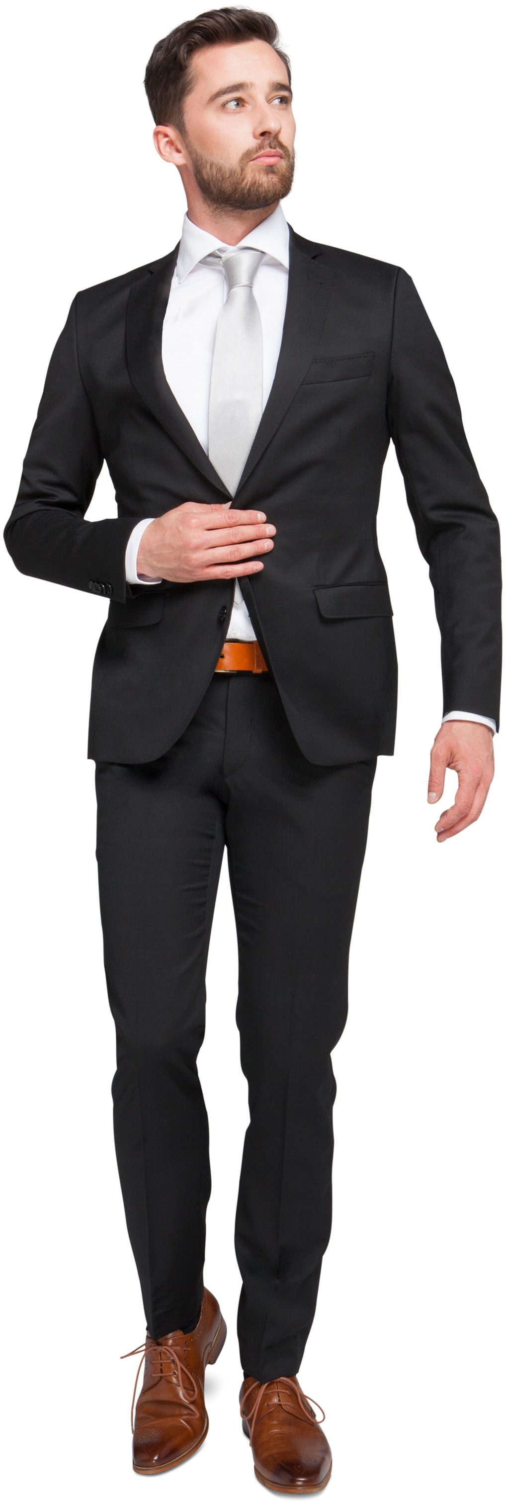Suitable Kostuum Piga Zwart foto 0