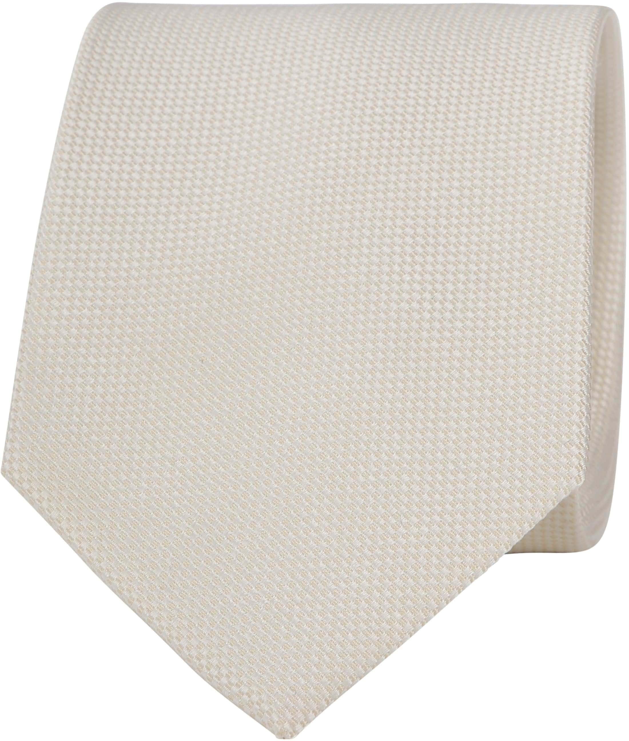 Suitable Krawatte Off-White foto 0