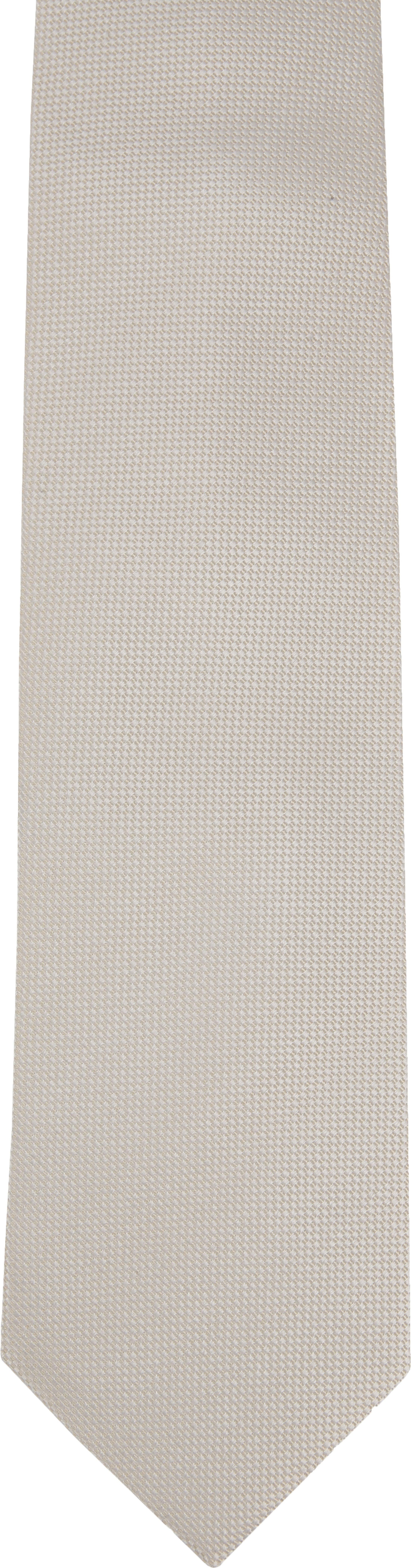 Suitable Krawatte Off-White foto 1